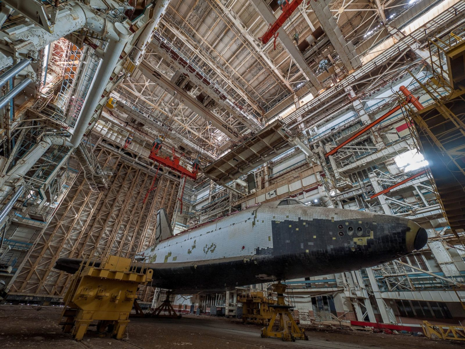 Captivating Photographs Document Soviet Space Shuttles Abandoned in ...