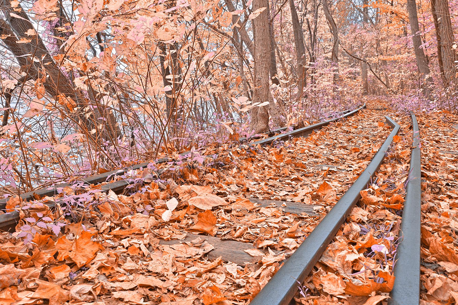 Abandoned susquehanna railroad - fantasy express hdr photo