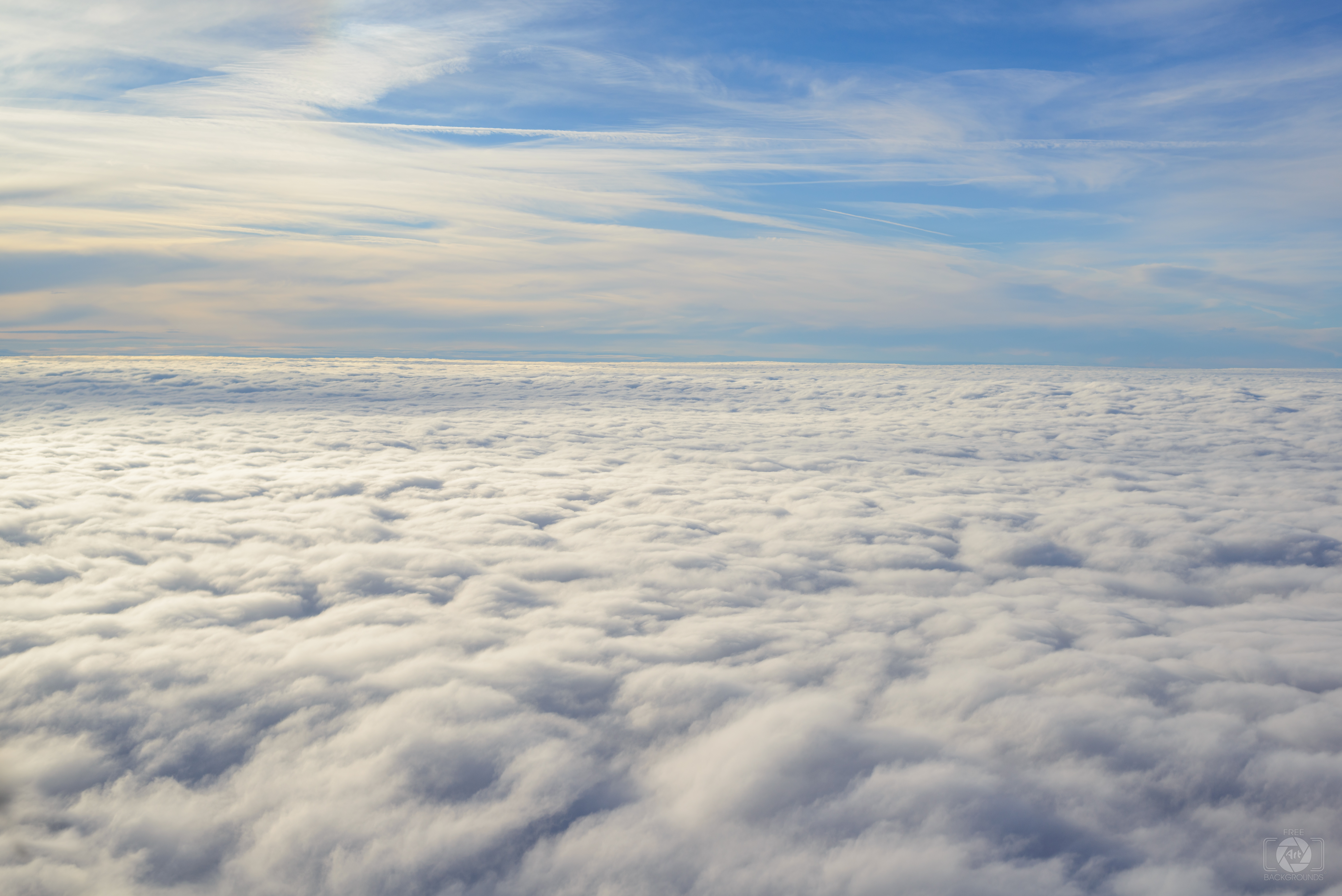 Above the clouds photo