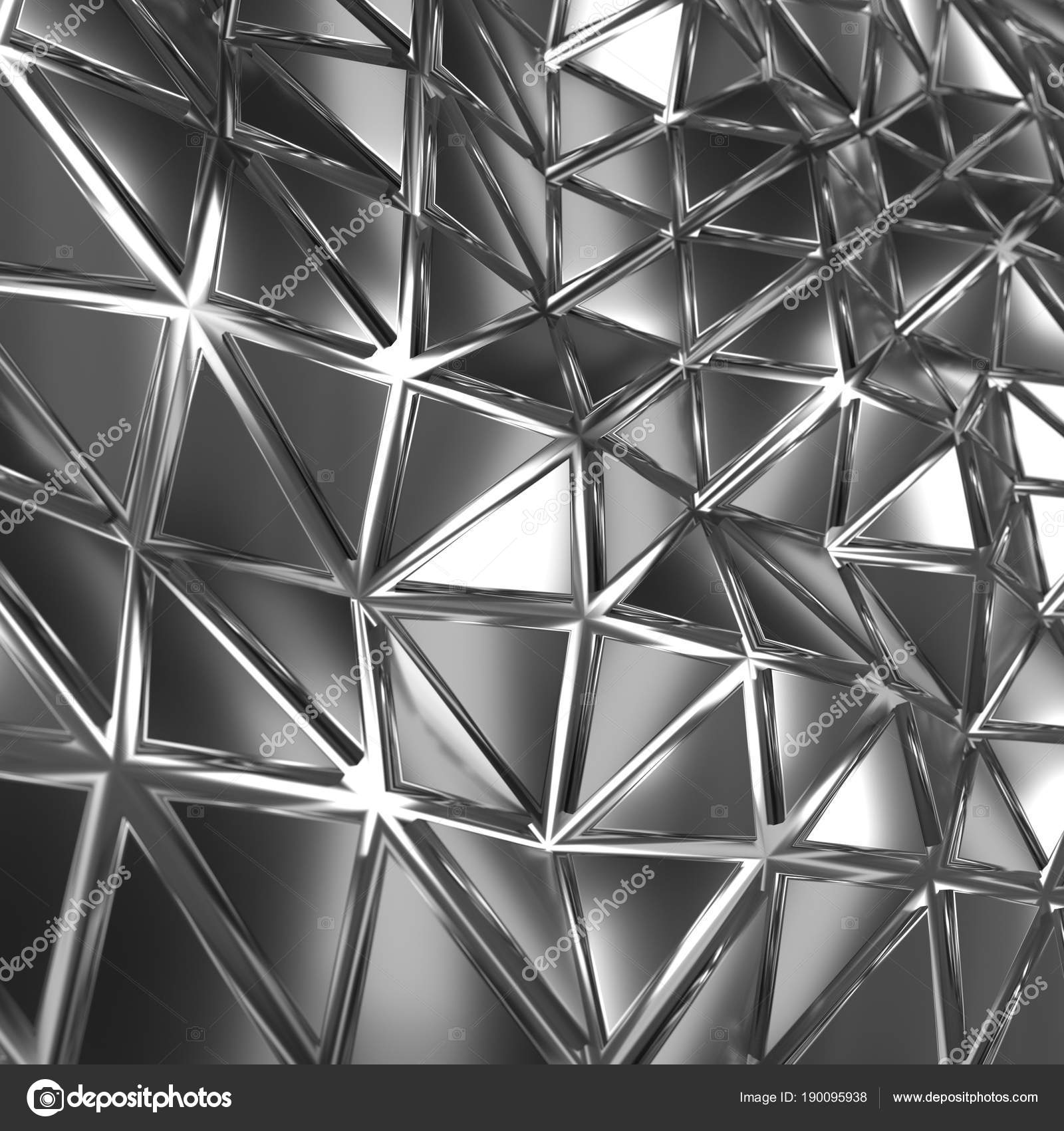 Abstract 3d render photo