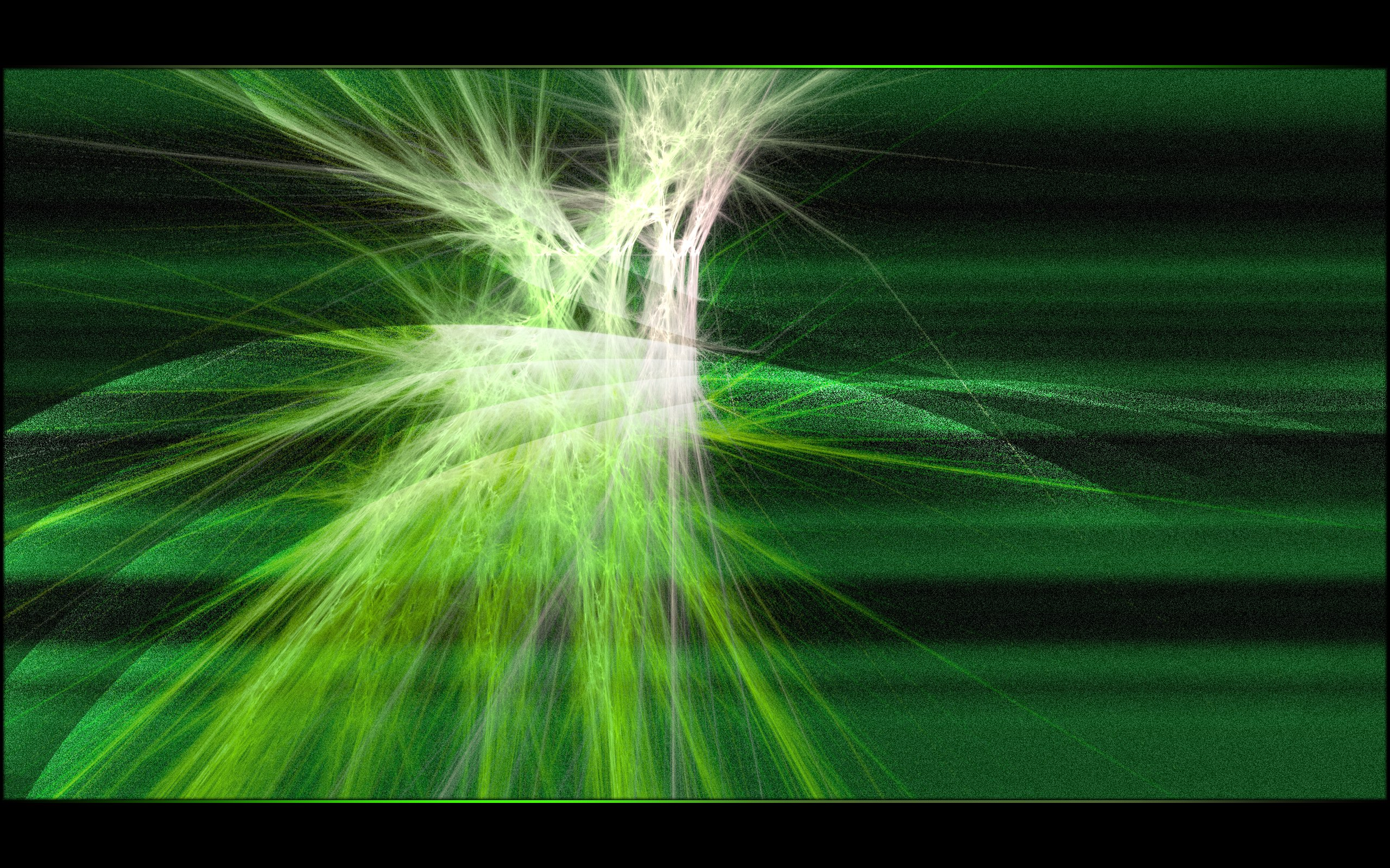 Abstract Background, Green, Hi-tech, White, Fractal, HQ Photo