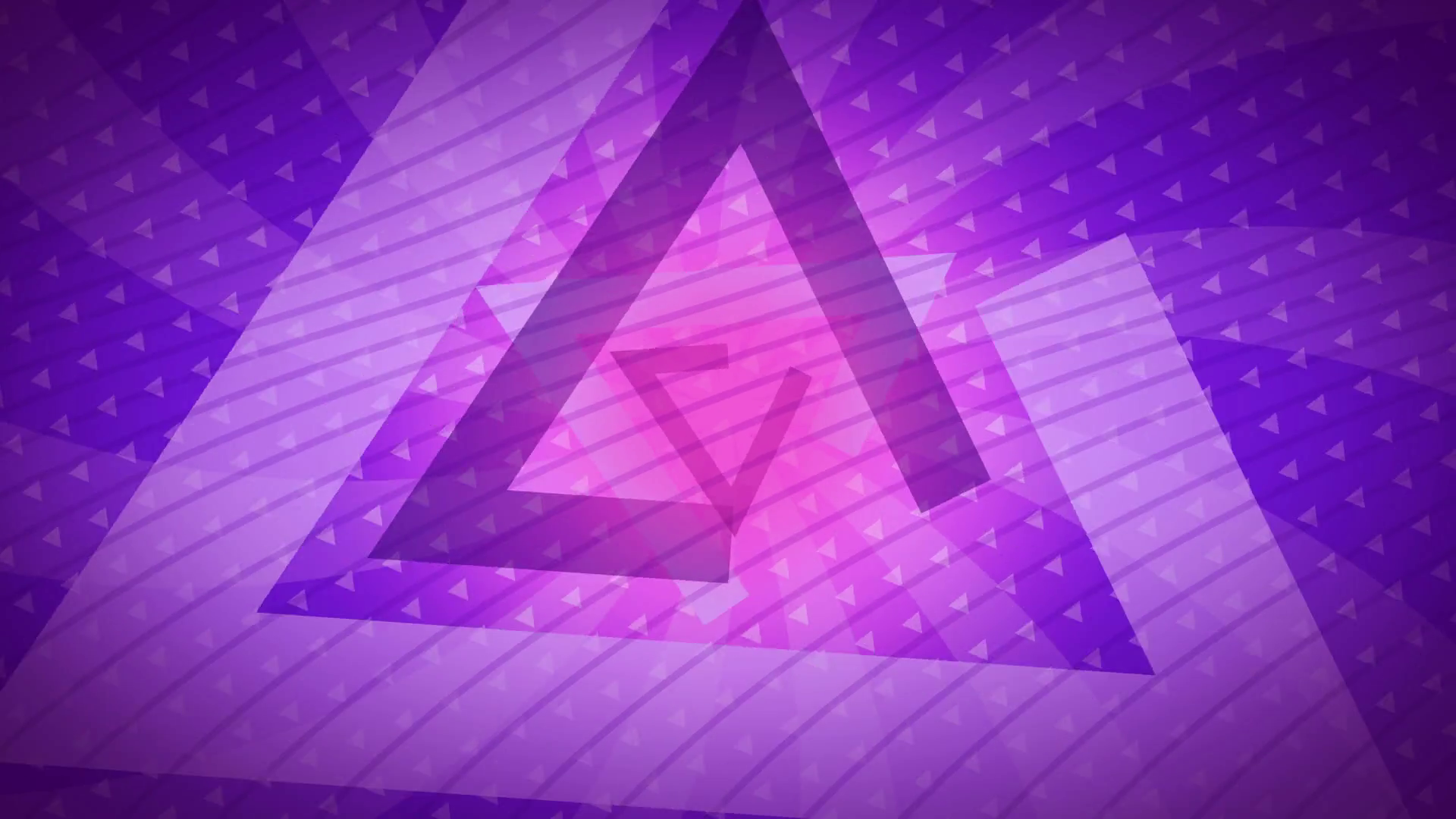 purple triangles Abstract Background Animation loop for your logo or ...