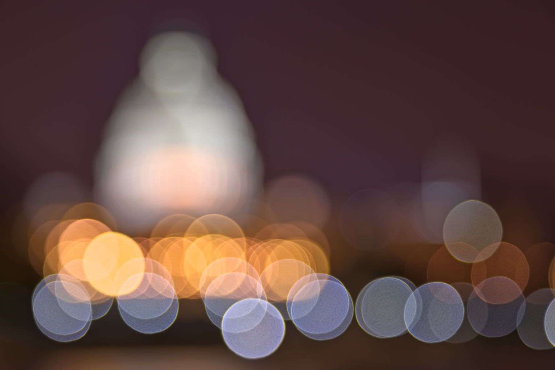Abstract Bokeh Background - Capitol HDR, Abstract, Night, Roof, Resource, HQ Photo