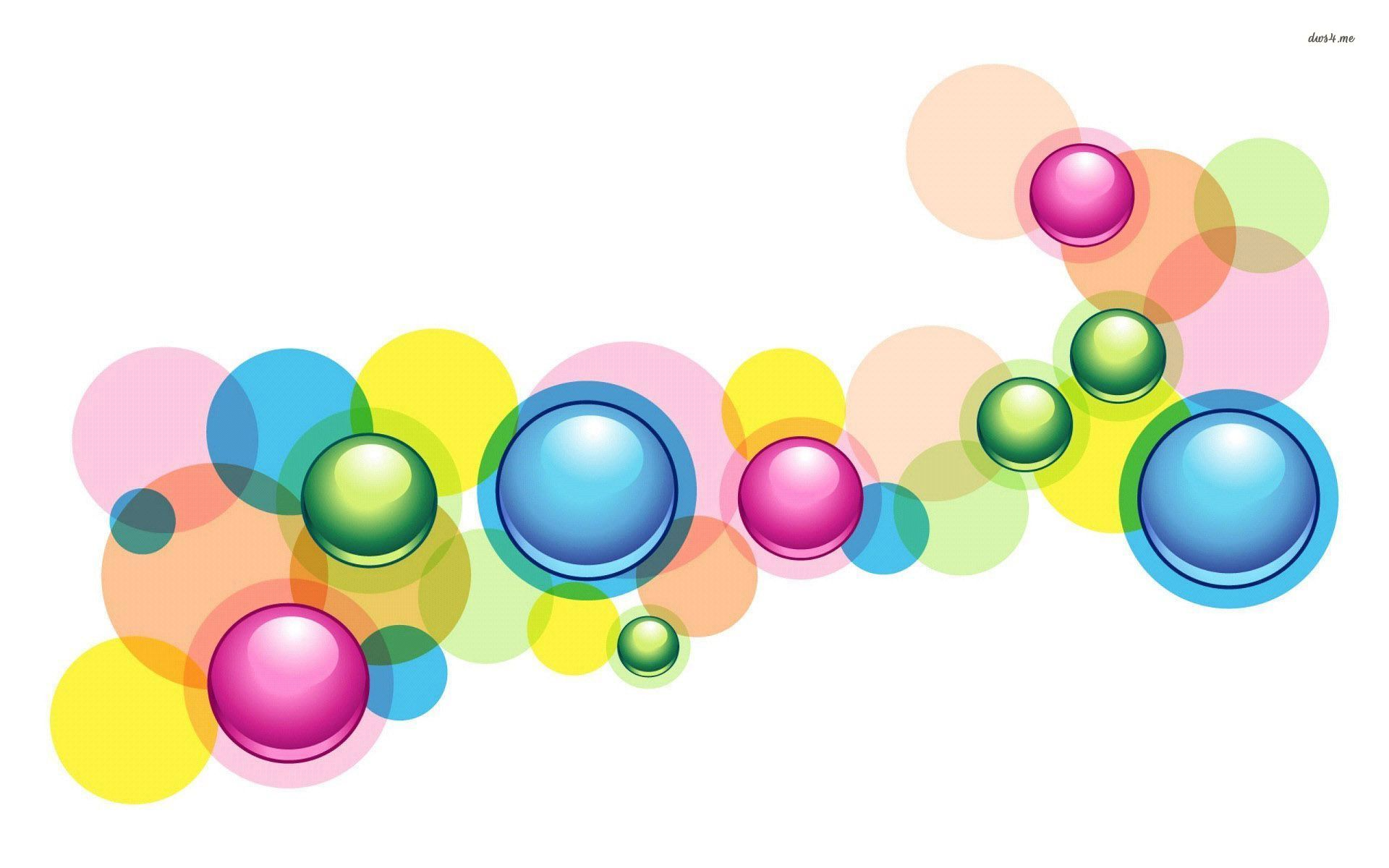 Colorful Circles wallpaper - Abstract wallpapers - #6985