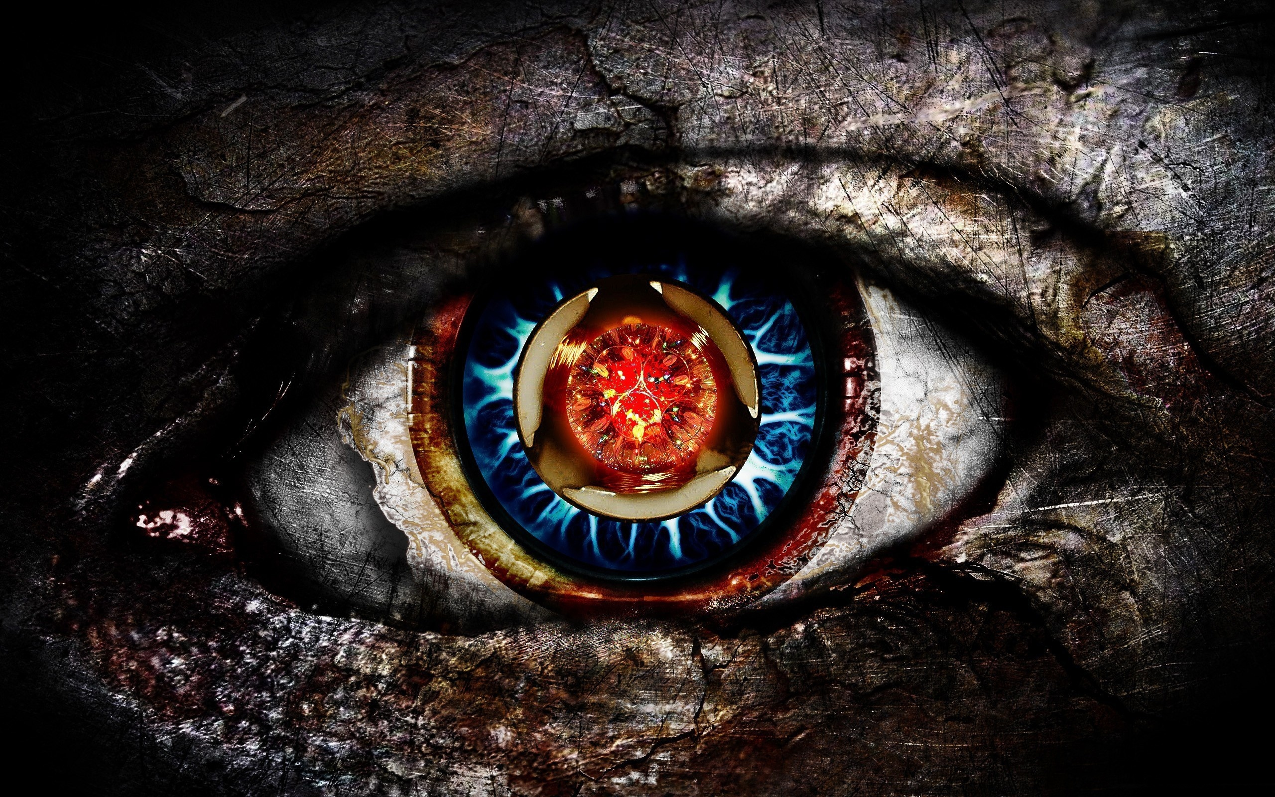 Digital Abstract Eye #6991637