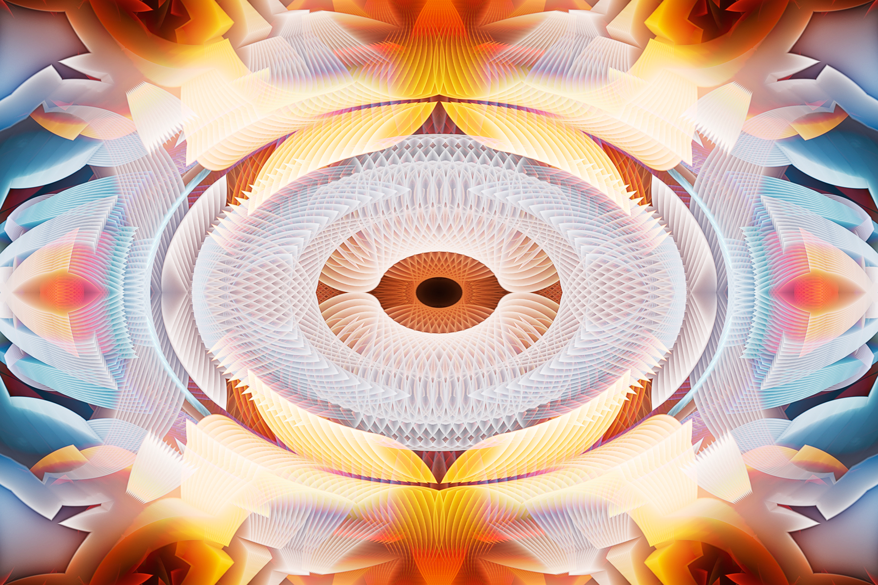 Abstract Eye, Abstract, Science, Lights, Orange, HQ Photo