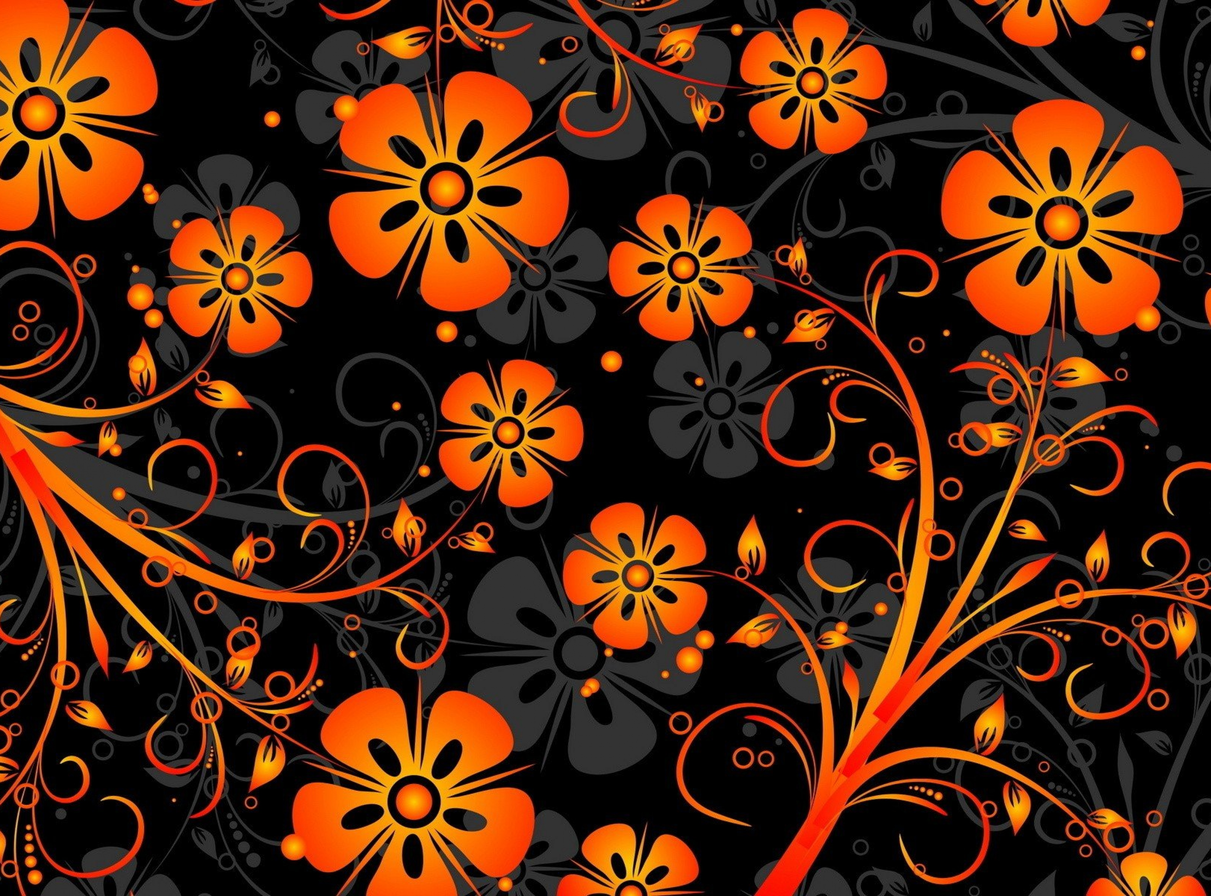 Floral texture pattern wide 4K HD wallpaper 5 | Wallpapers Wolf