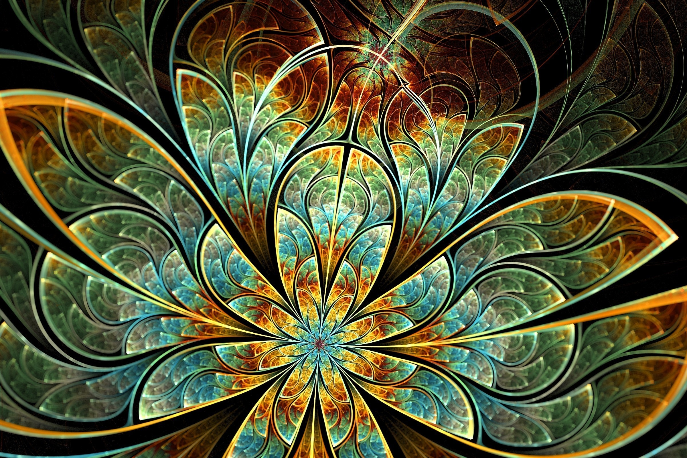 2023 Fractal HD Wallpapers   Background Images - Wallpaper Abyss