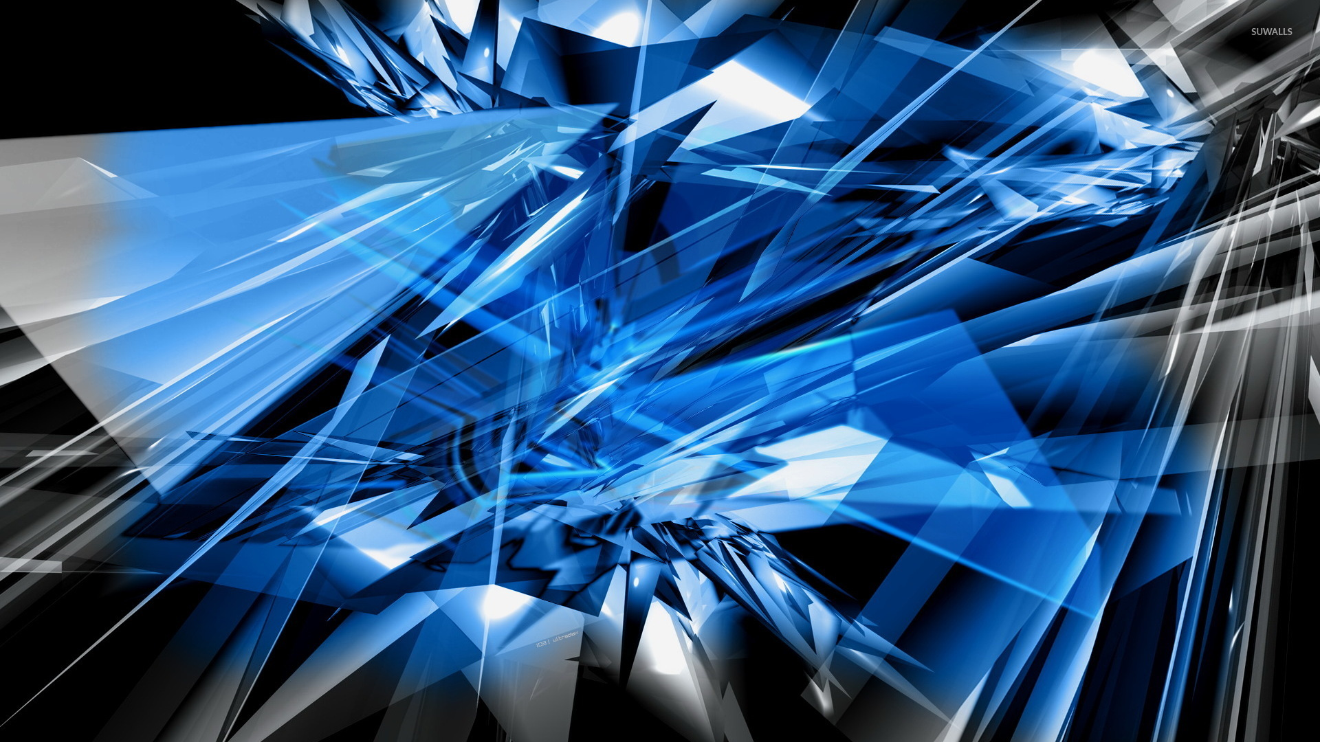 Glass shards wallpaper - Abstract wallpapers - #6883