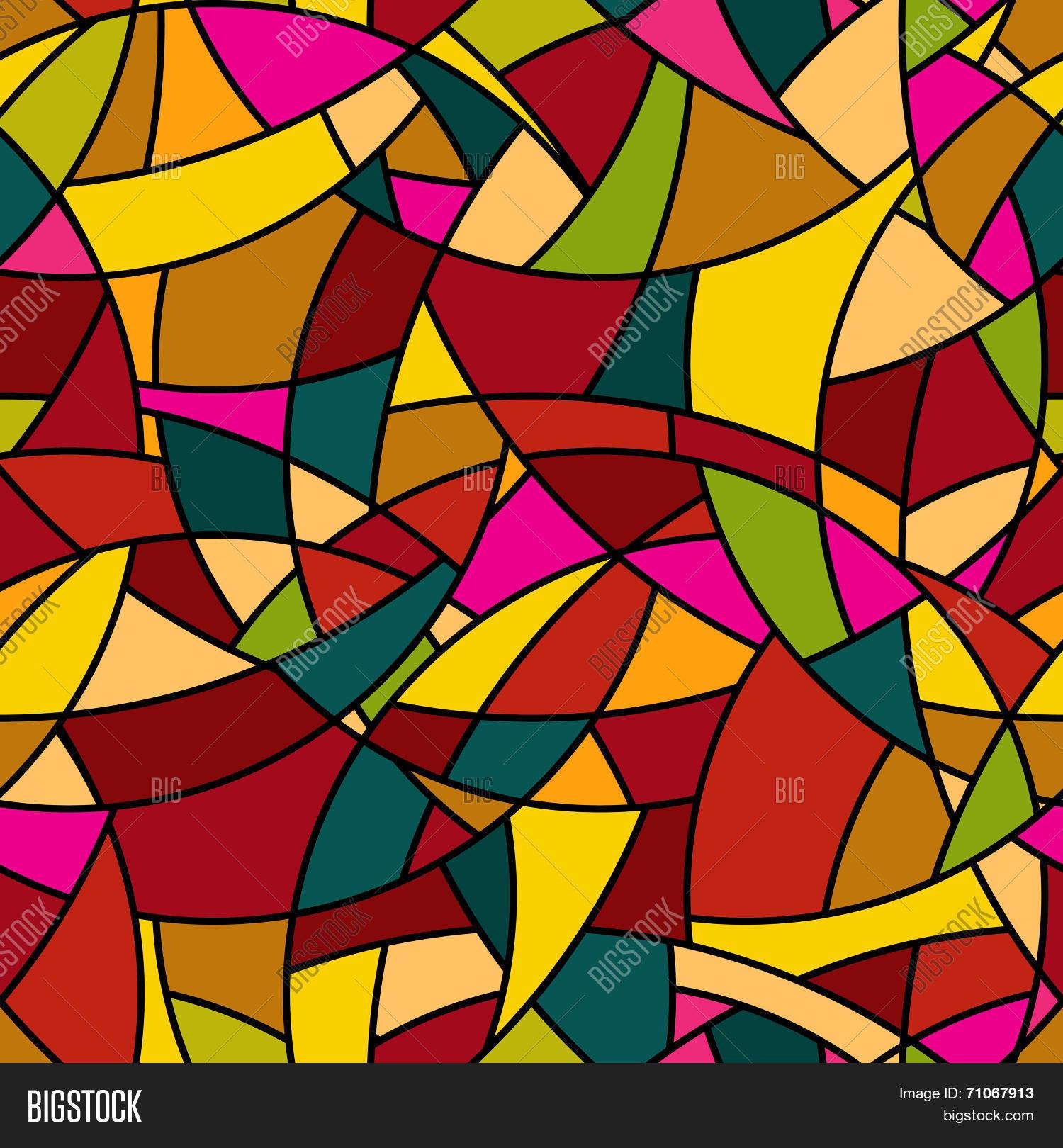 Vector Seamless Pattern - Abstract Vector & Photo | Bigstock
