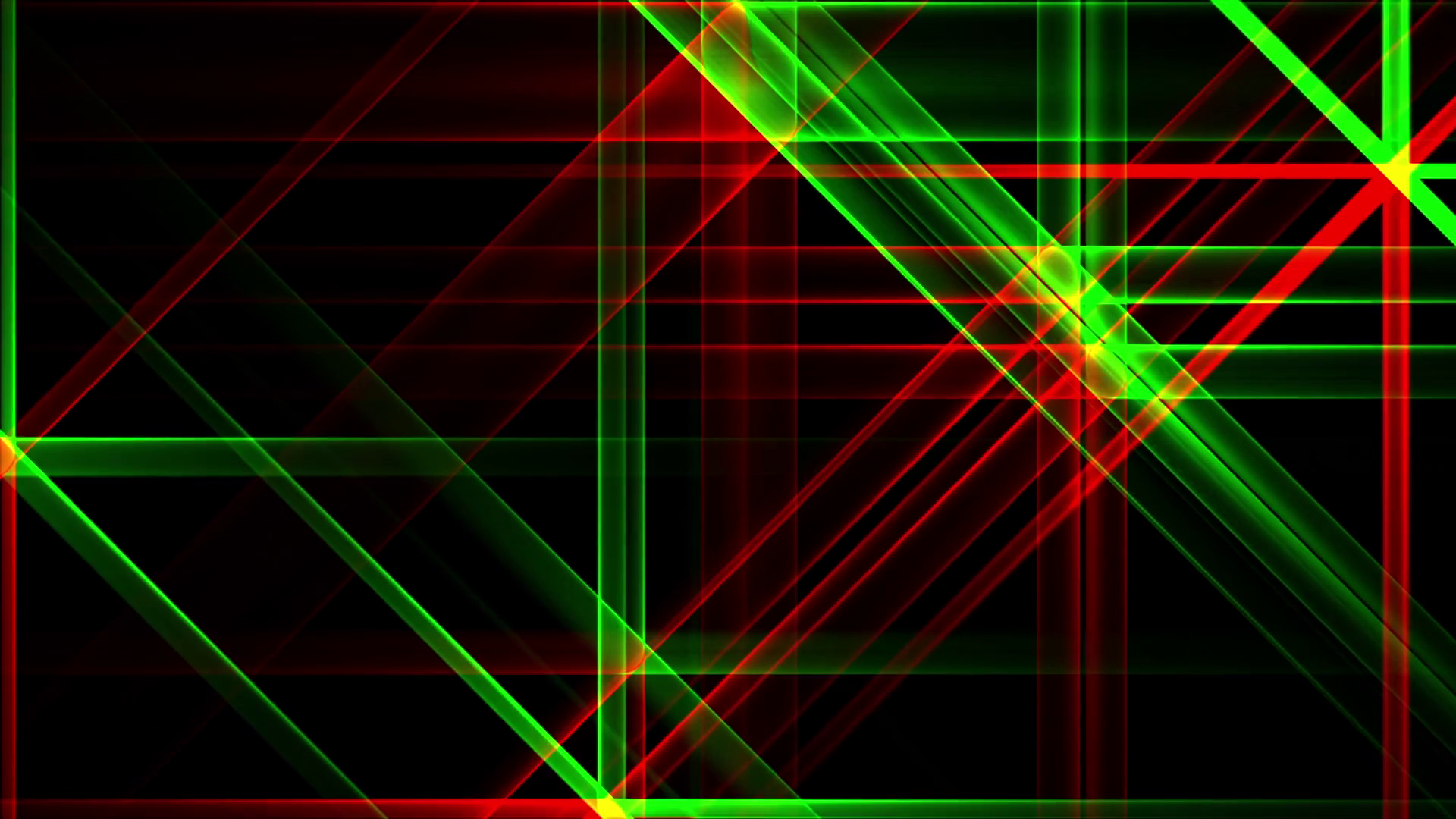 Red Green Night Abstract Lights Flashes Rays Stars VJ Motion ...