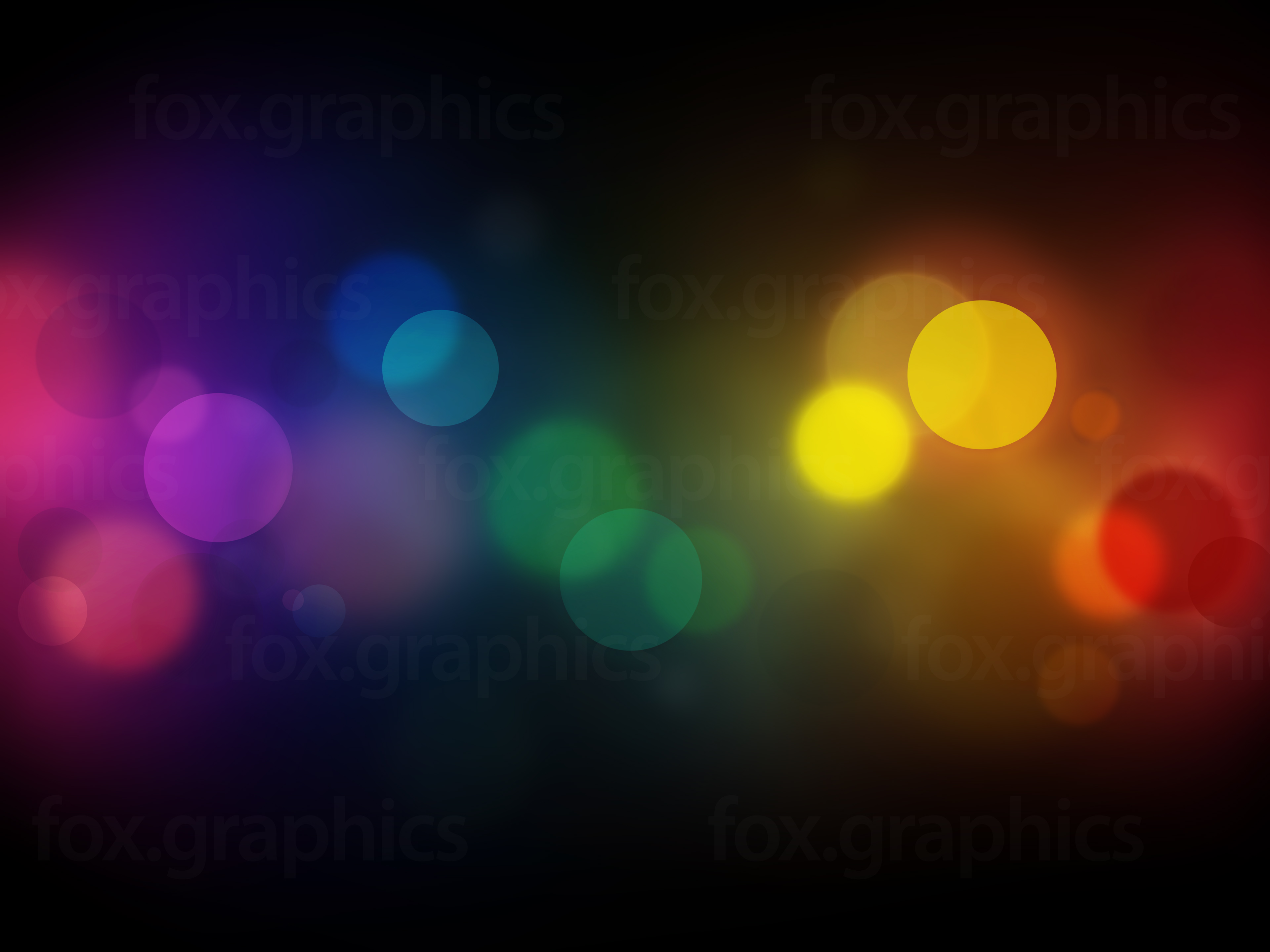 Abstract lights background - Fox Graphics