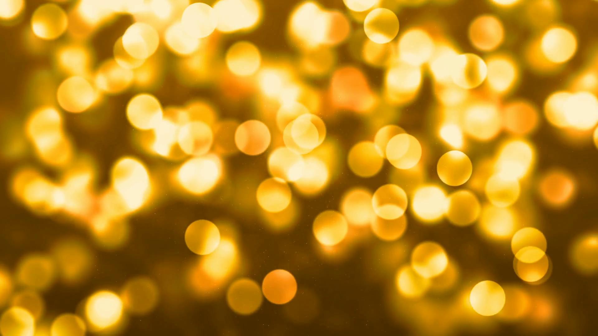 Yellow Bokeh Light Abstract Background Stock Video Footage - Videoblocks