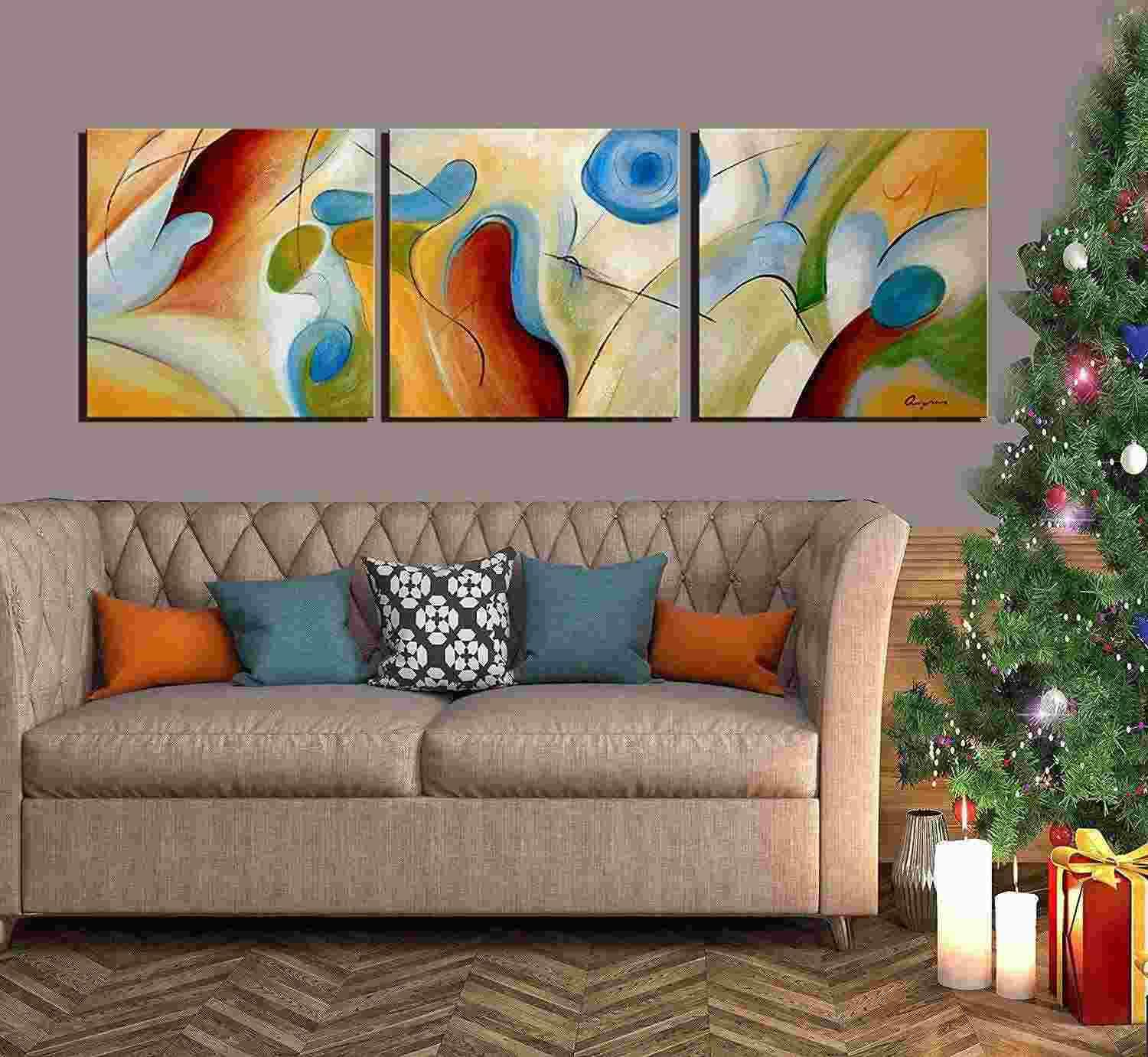 2018 100% Hand Painted Abstract Oil Painting On Canvas Dream ...