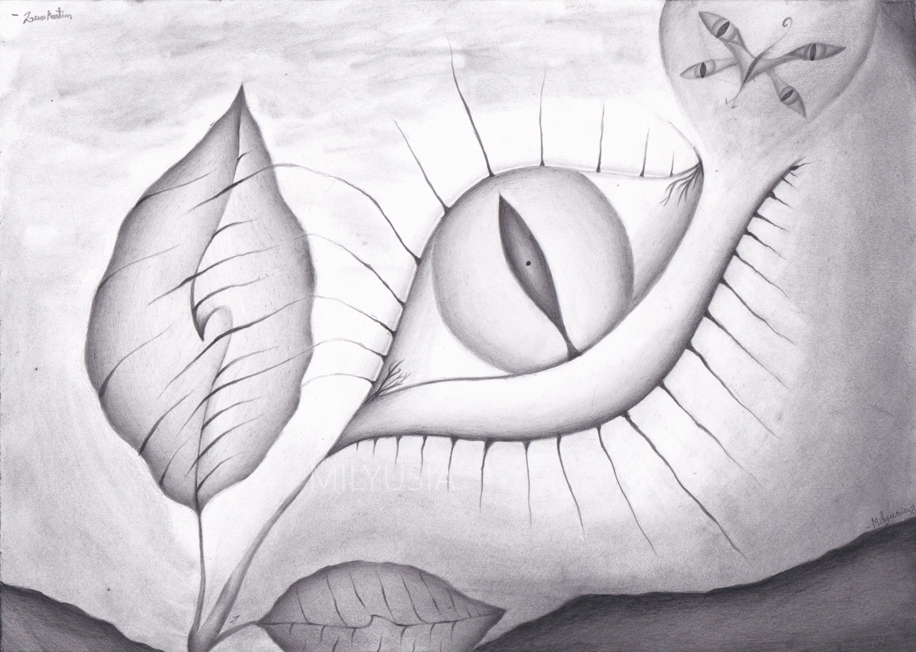 abstract pencil drawings - Ideal.vistalist.co
