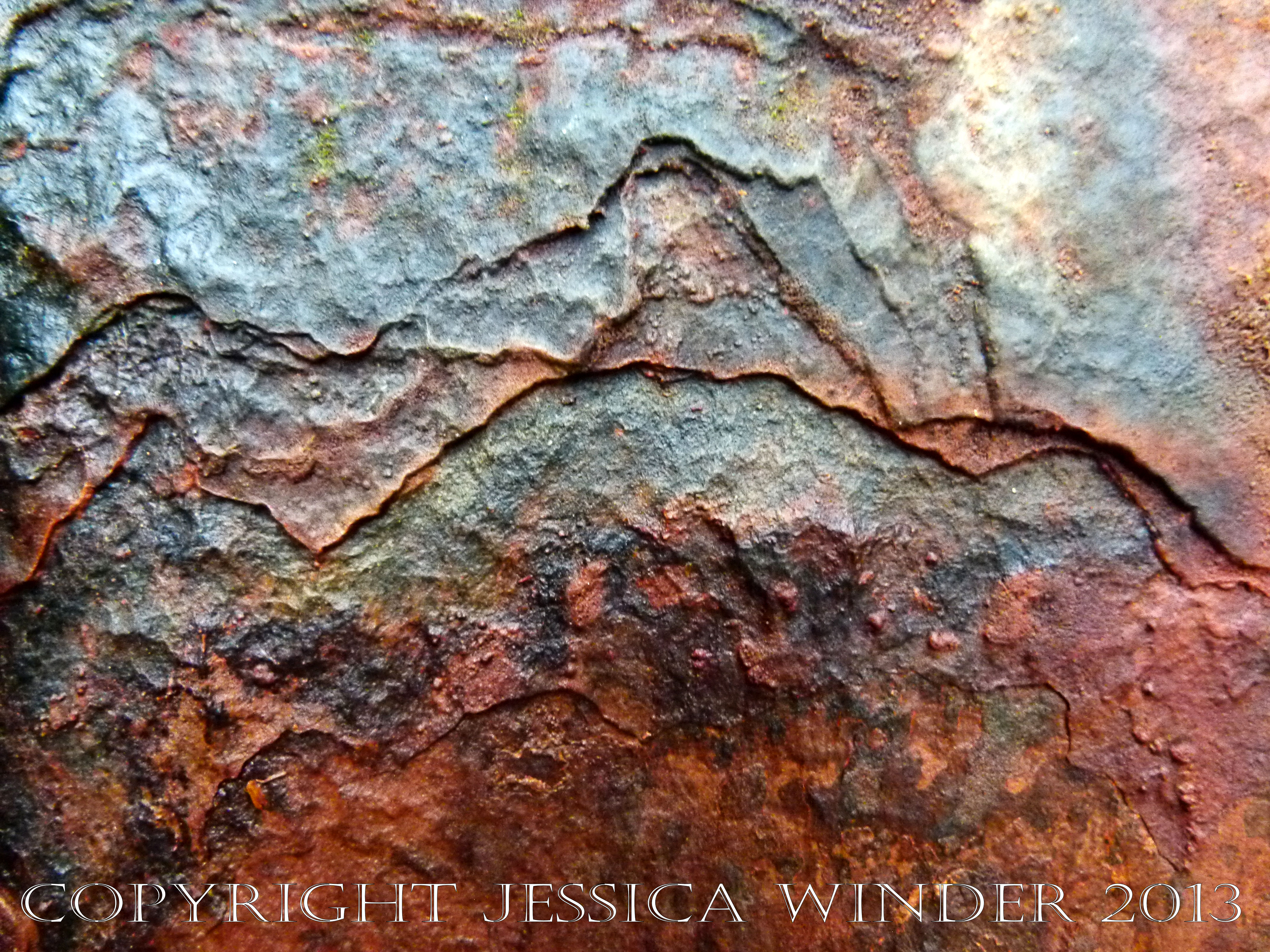 Saltwater Corrosion in Iron 1 – Jessica's Nature Blog