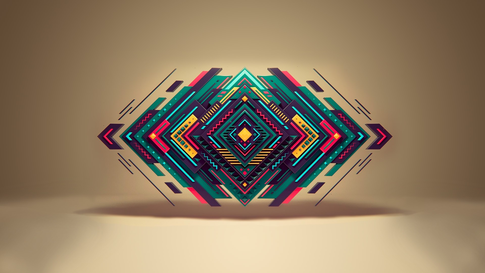 Abstract shape [1920x1080] : wallpaper