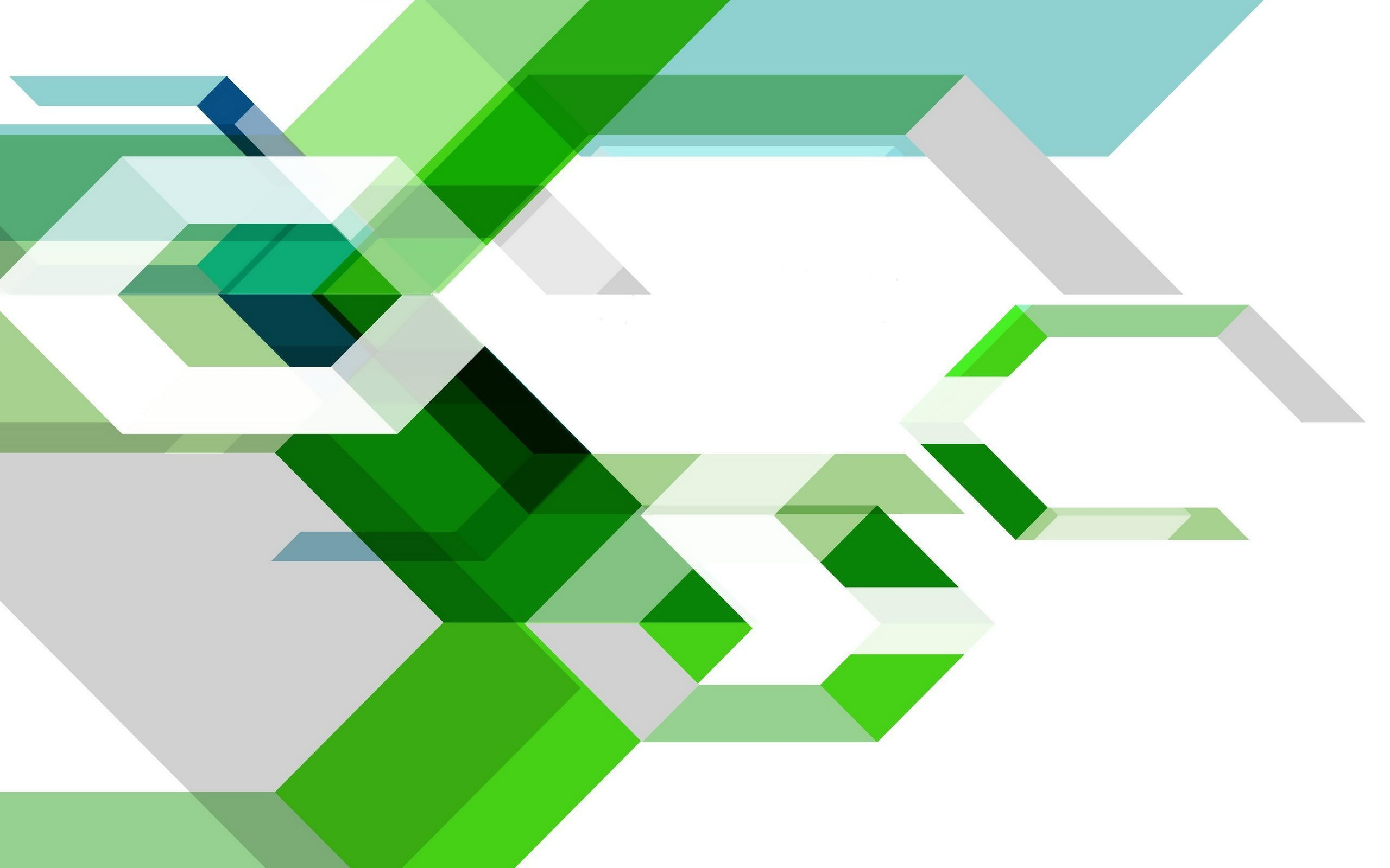 Abstract: Green Shapes Shape Wide Resolution 2560x1600 for HD 16:9 ...