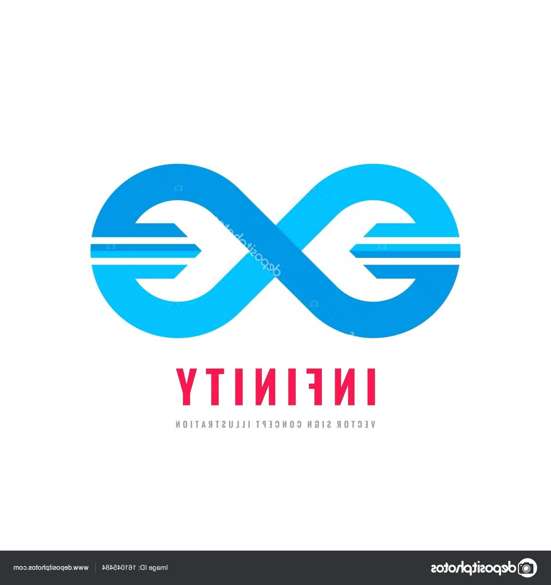 Creative Logo Template Infinity Vector Concept Illustration Abstract ...
