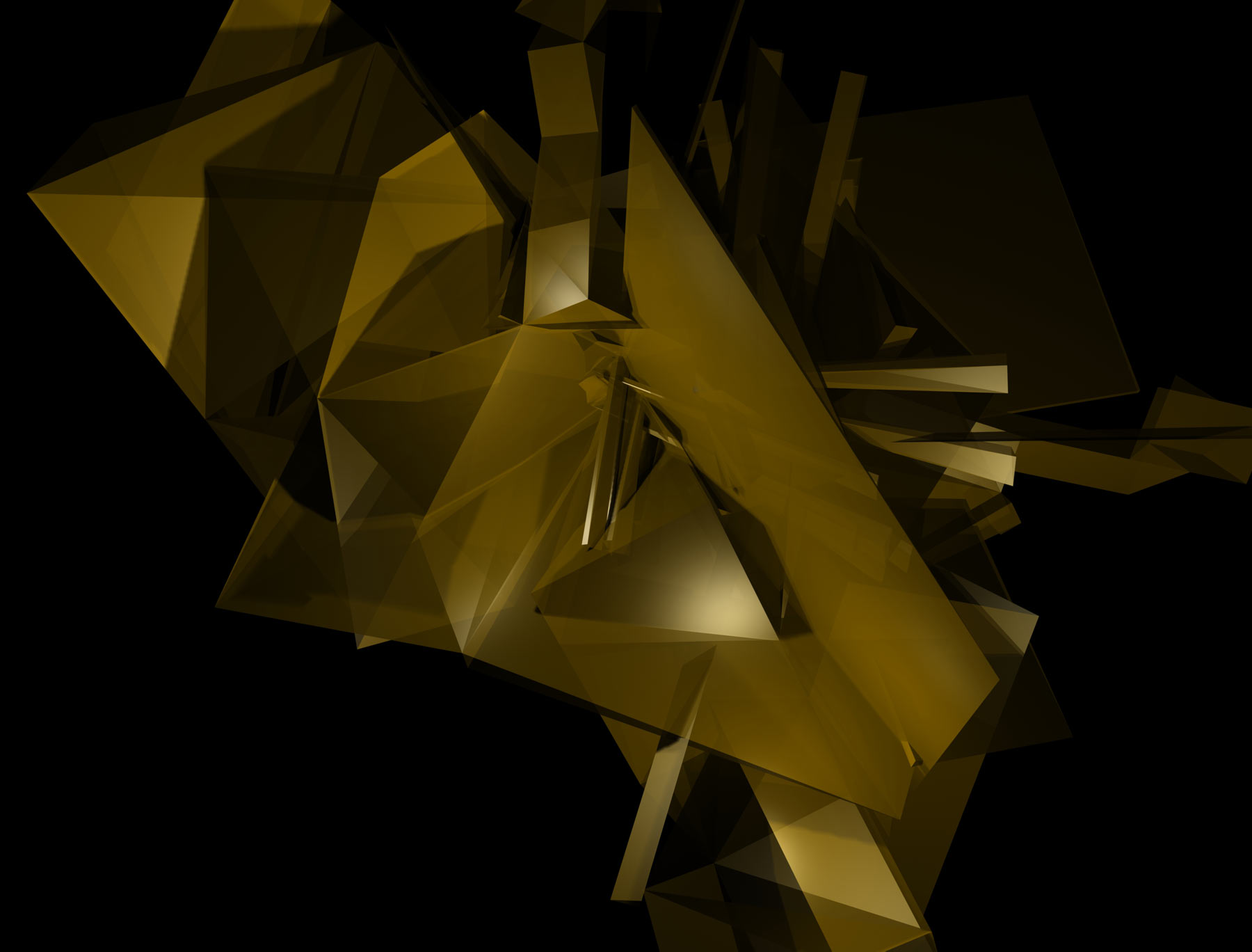 Abstract Shape, 3d, Abstract, Black, Digital, HQ Photo