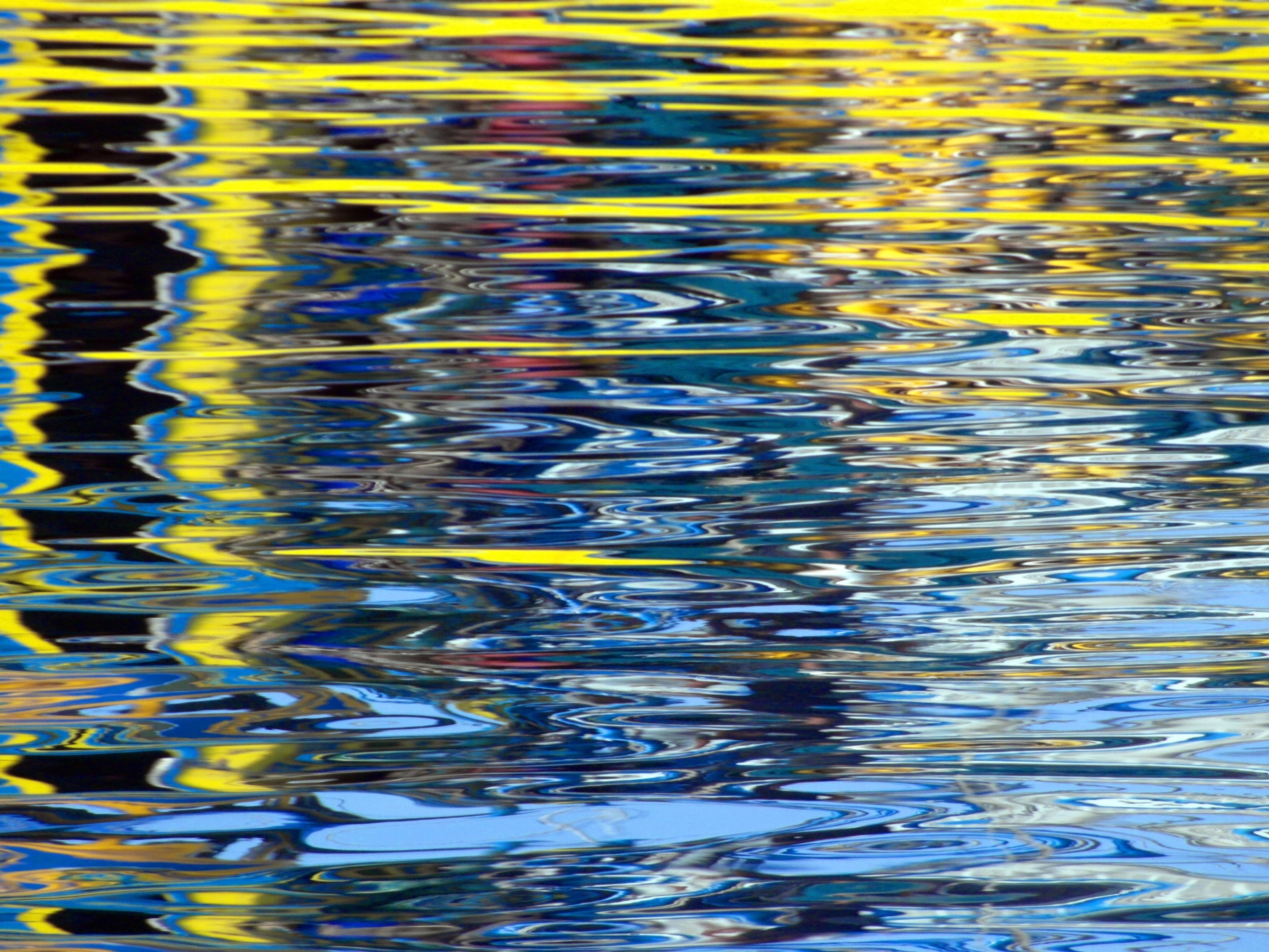 Abstract water ripples photo