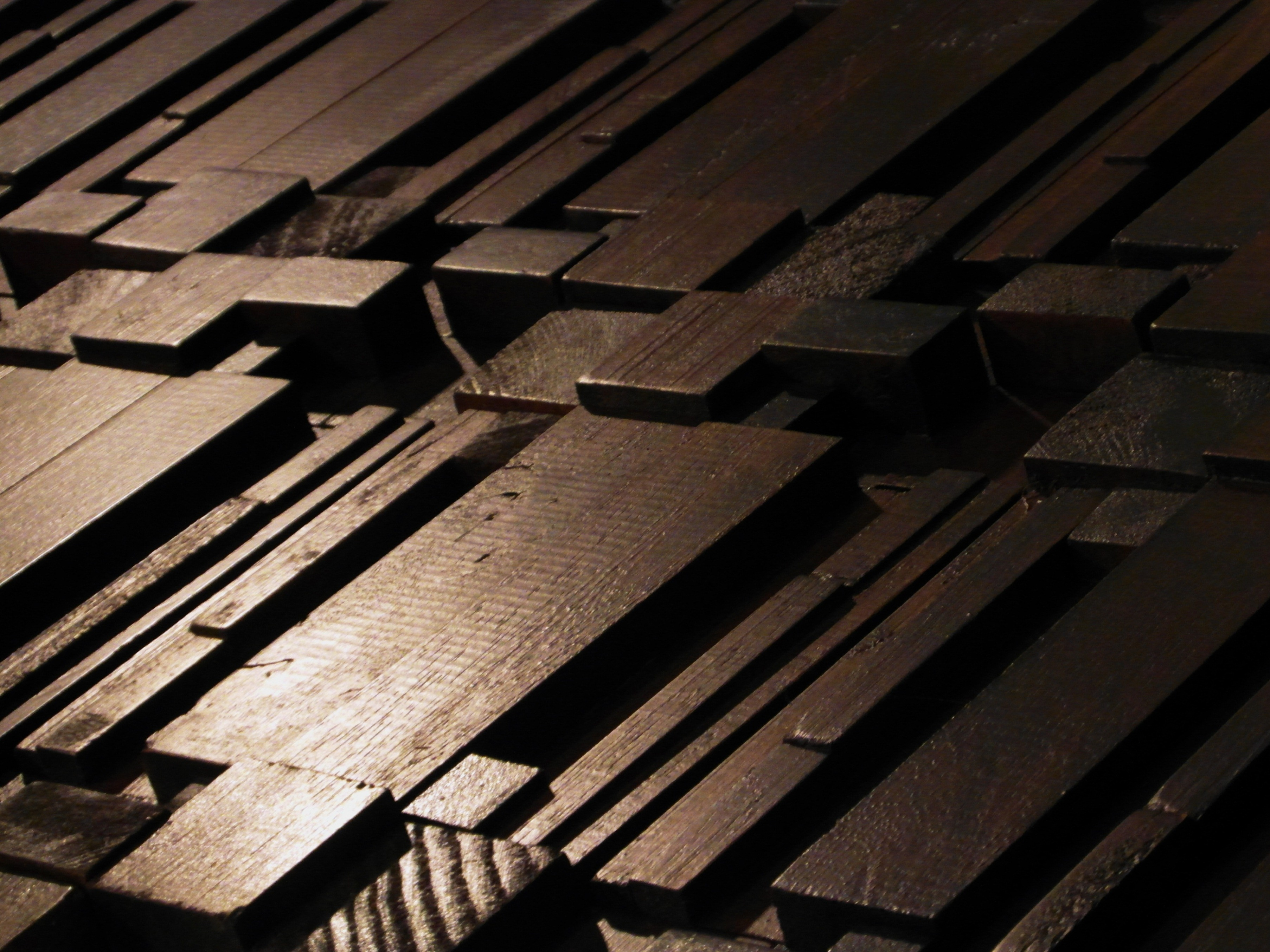 Abstract Wooden Blocks, Abstract, Teak, Original, Panel, HQ Photo