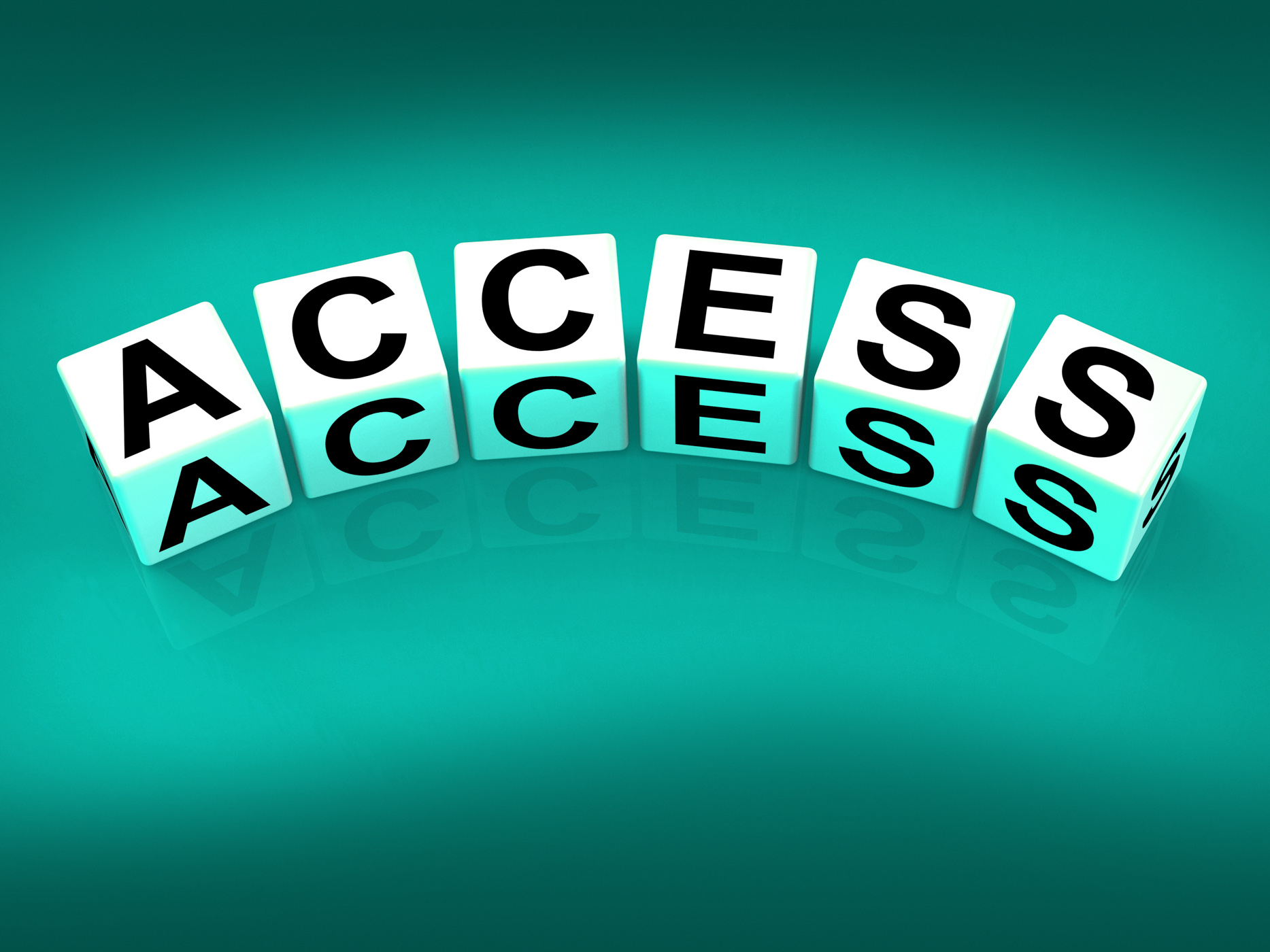 Access Blocks Show Admittance Accessibility and Entry, Access, Security, Secure, Permission, HQ Photo