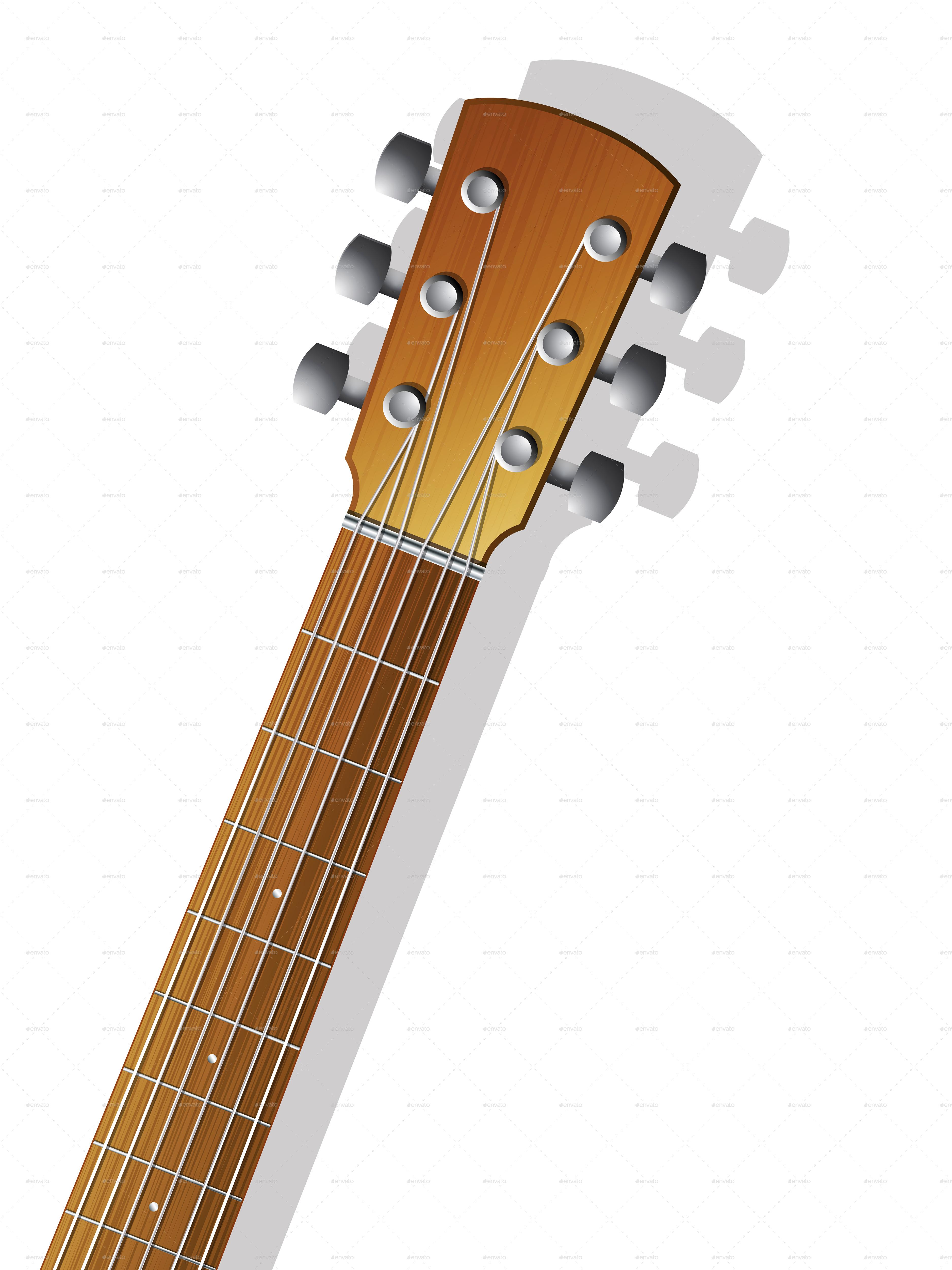 Guitar neck photo