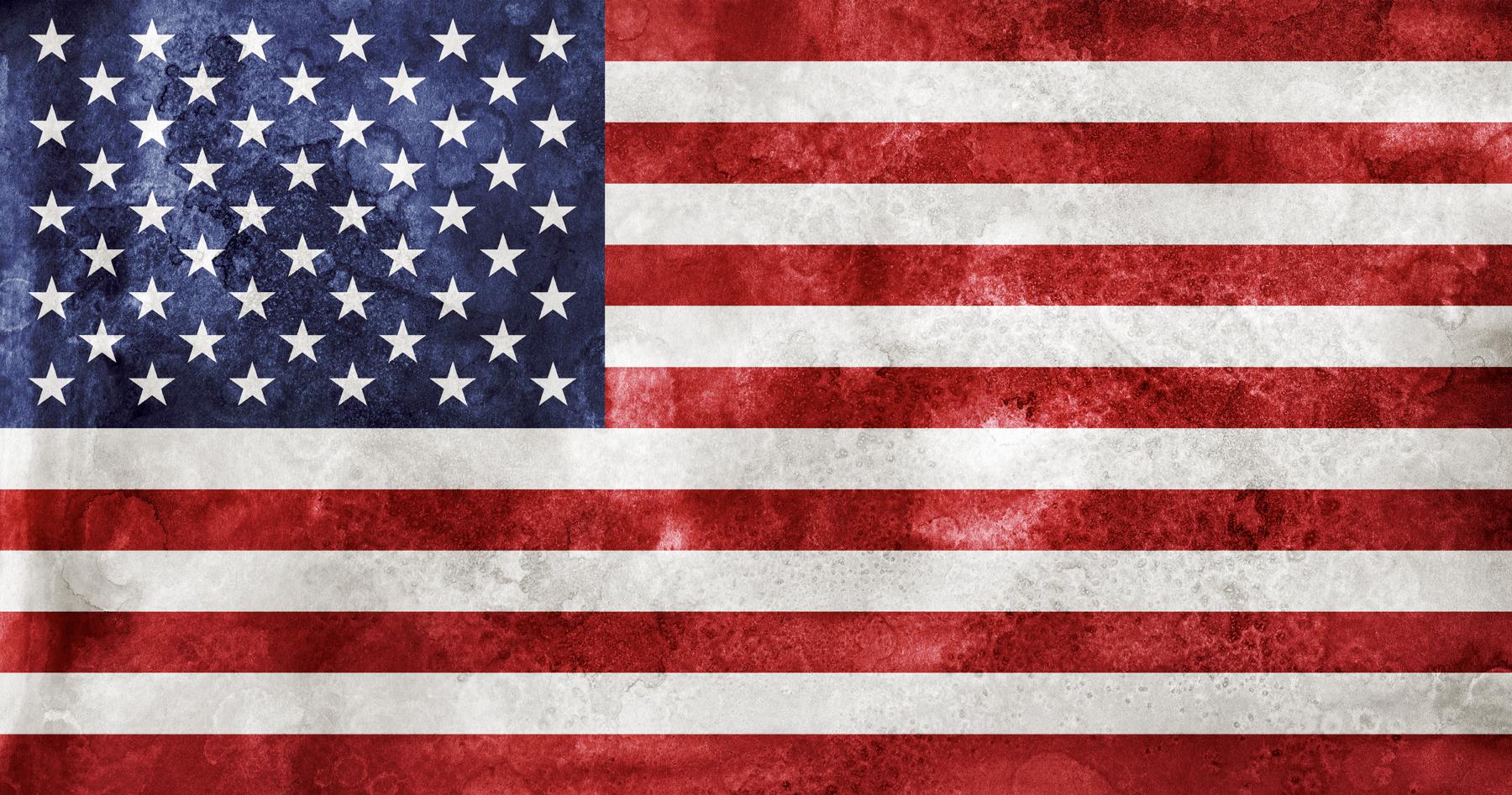 Acrylic Grunge Flag - USA, Acrylic, Resource, Stars, Star, HQ Photo