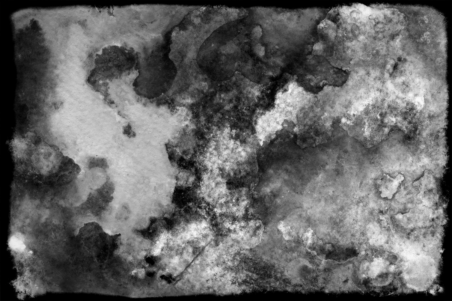 Abstract Painting - Tintype Grunge Texture