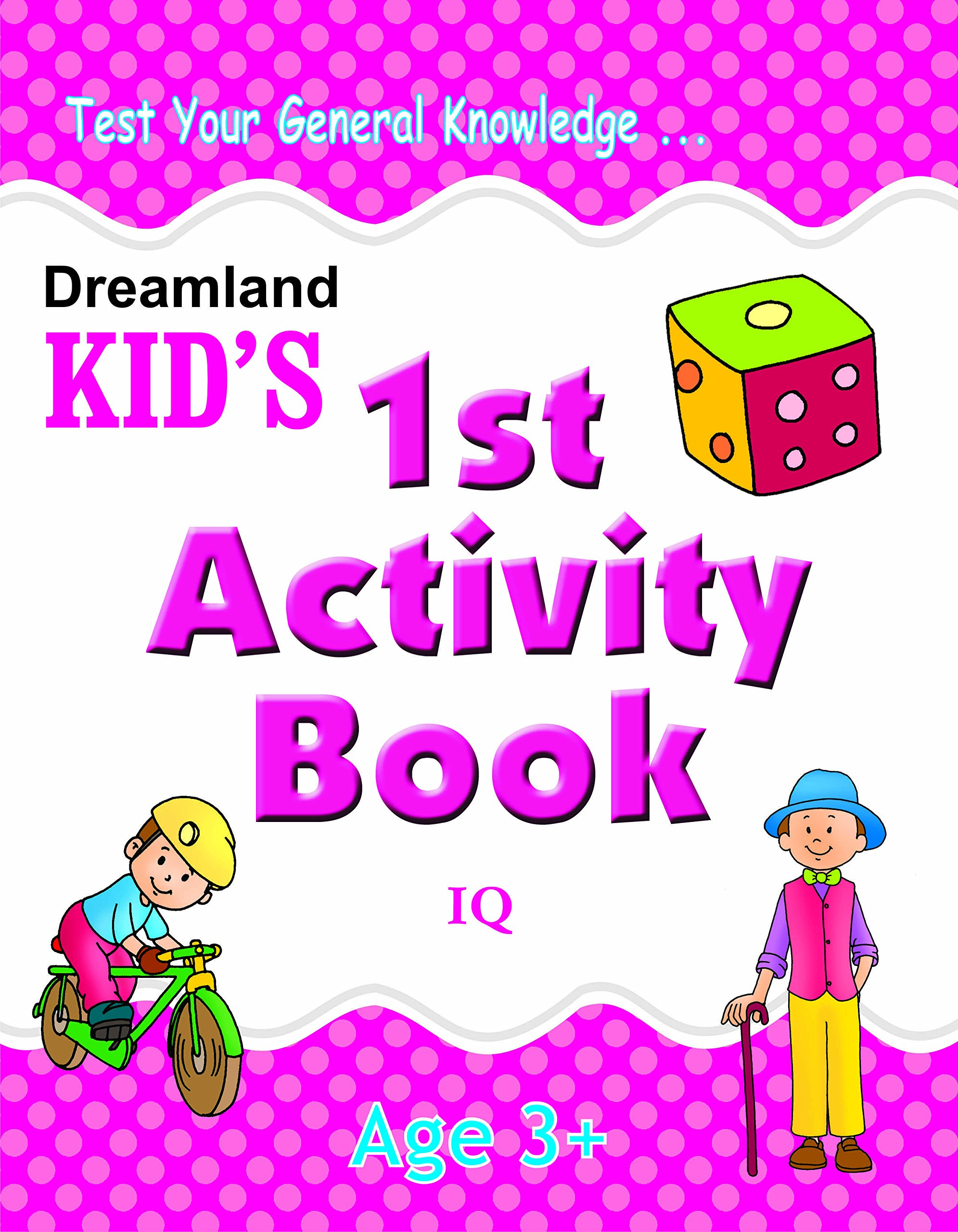 Buy 1st Activity Book - IQ (Kid's Activity Books) Book Online at Low ...