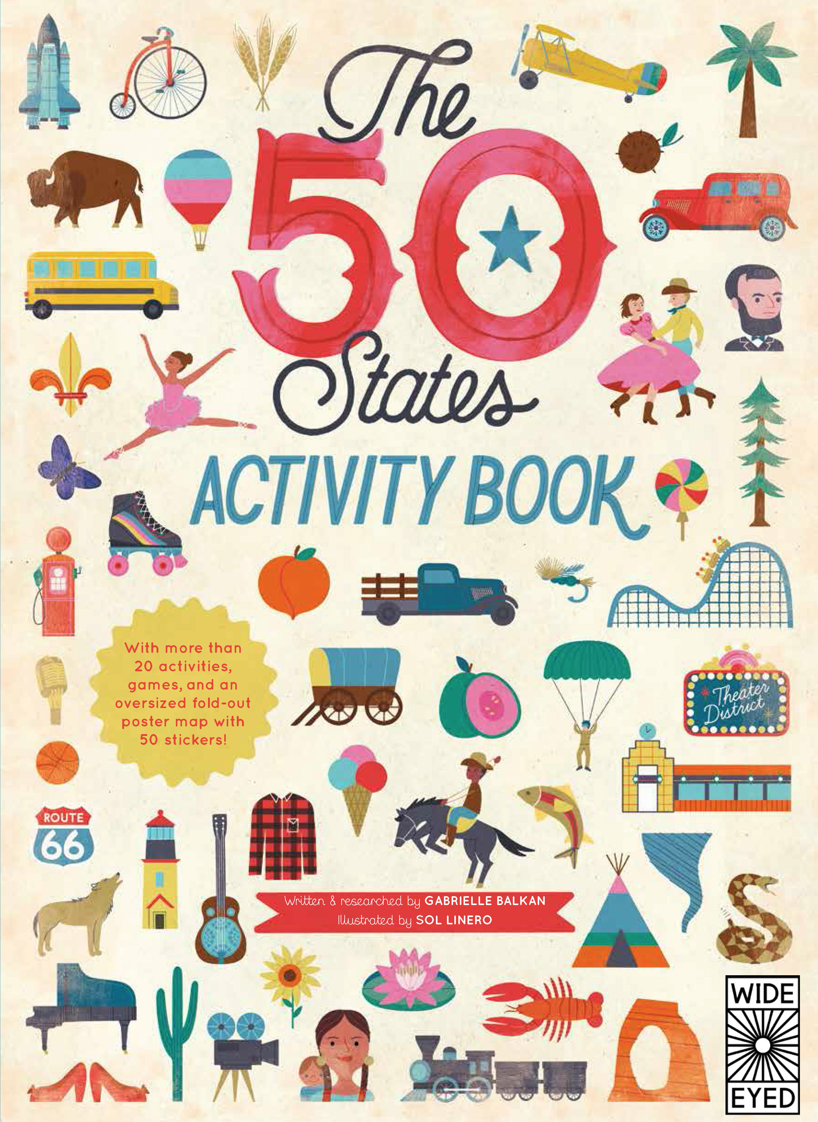 Discover America with this Fun Activity Book!   Quarto Knows Blog