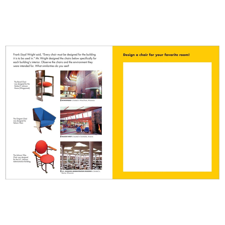 I Heart Architecture With Frank Lloyd Wright Activity Book   Mudpuppy