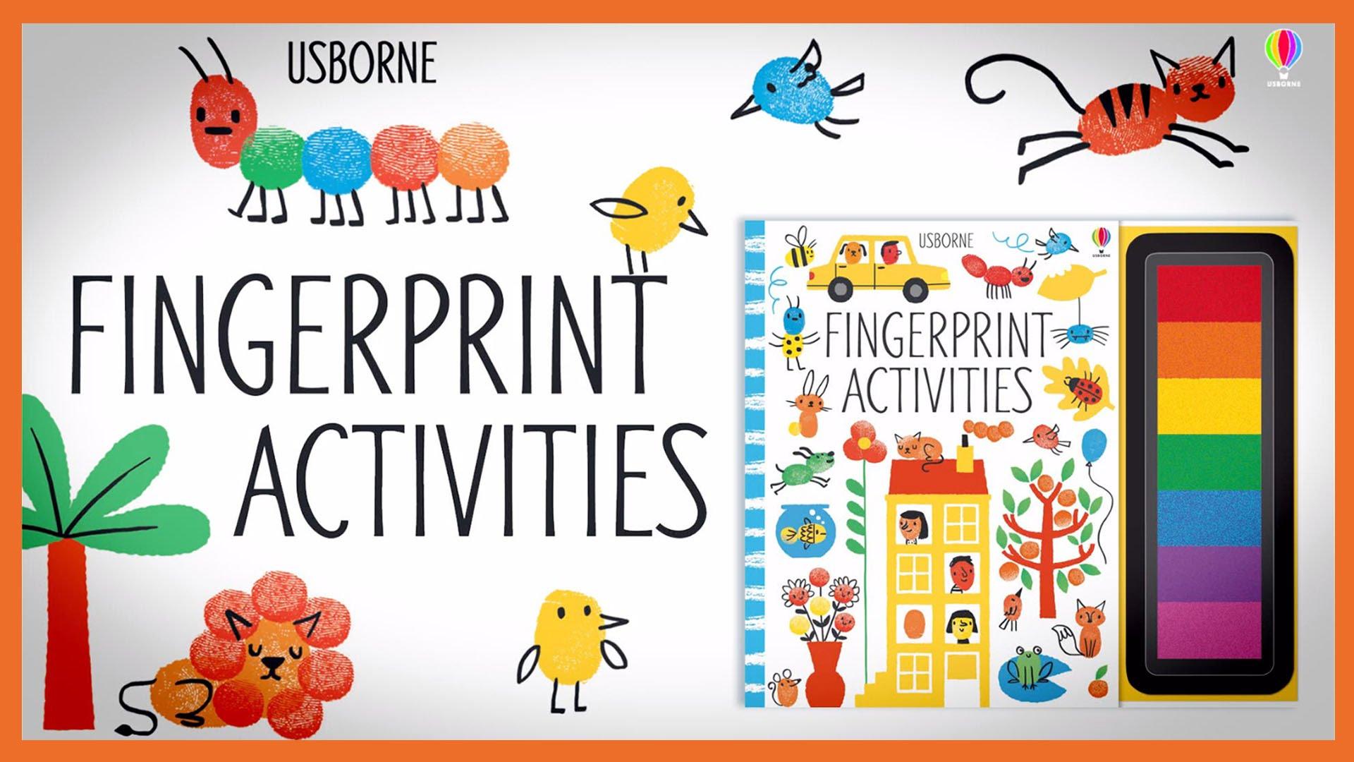 Usborne Fingerprint Activities - YouTube