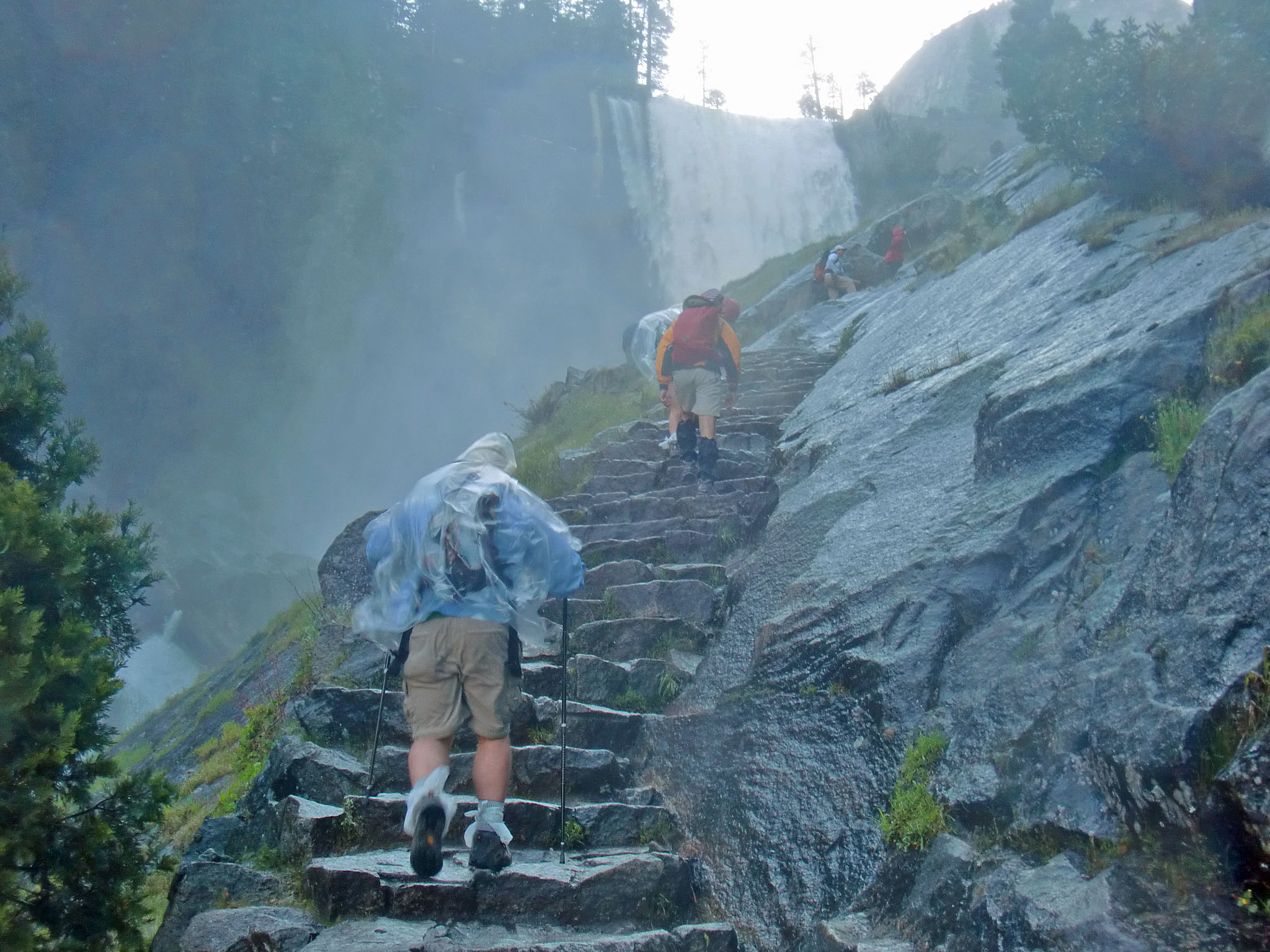 How to survive the Mist Trail Deluge | MrHalfDome's Blog