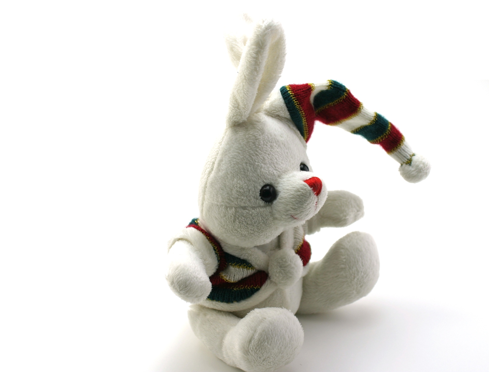 Adorable generic stuffed bunny photo