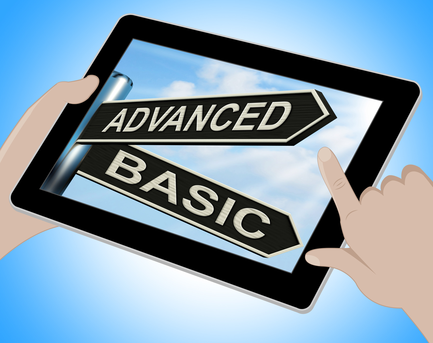 Advanced Basic Tablet Shows Product Versions And Prices, Advanced, Online, Web, Versions, HQ Photo