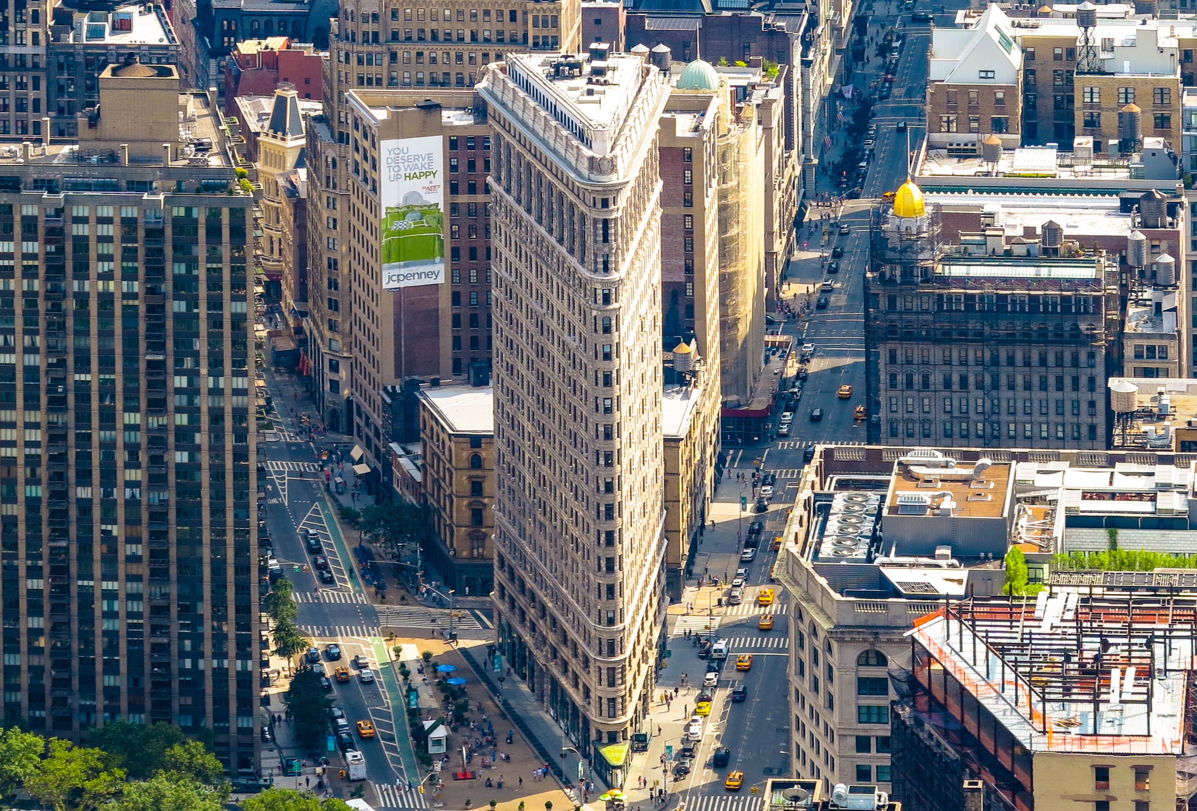 Aerial Photo of Buildings, Aerial, Office, Travel, Traffic, HQ Photo