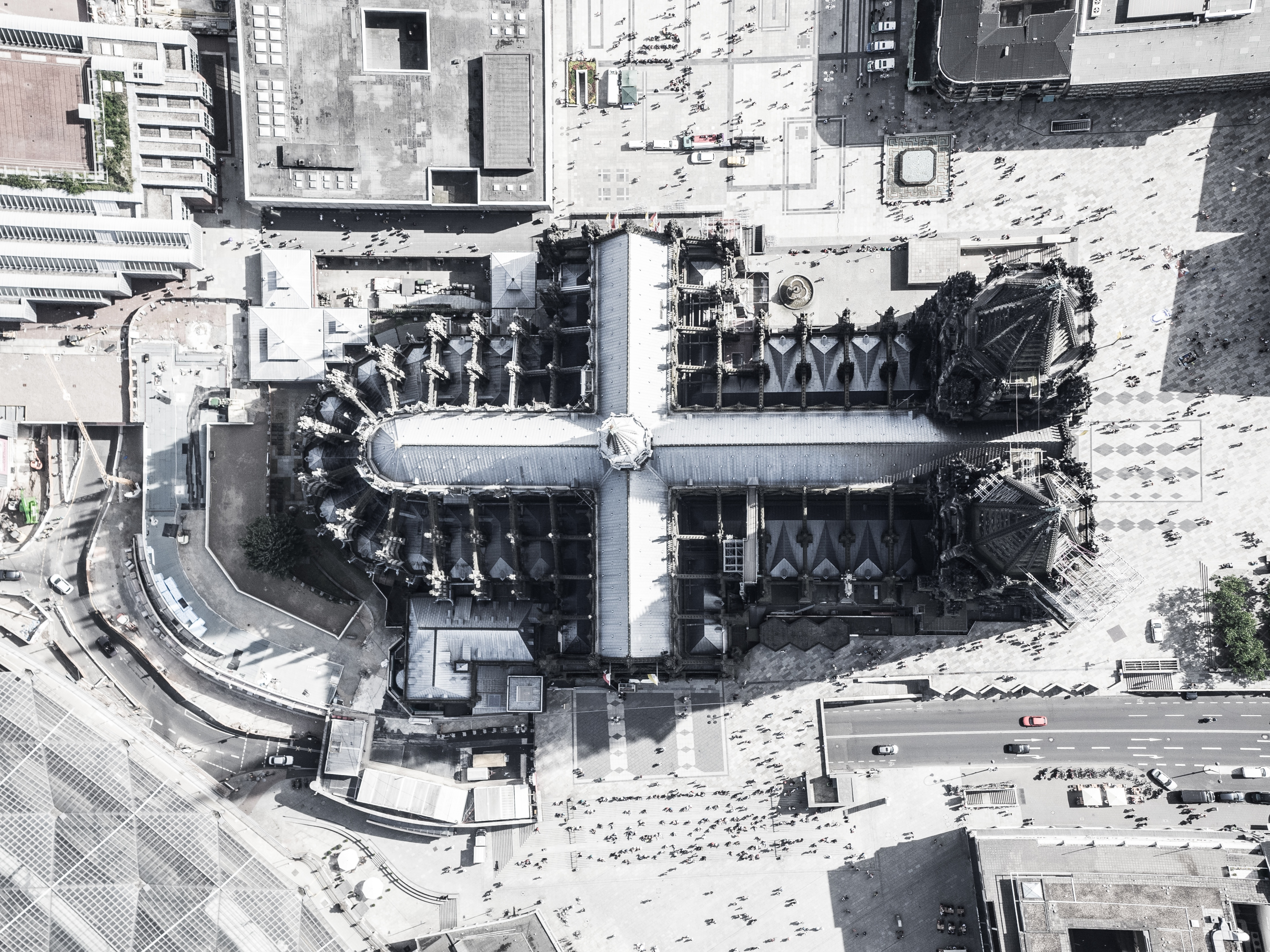 Aerial view photo