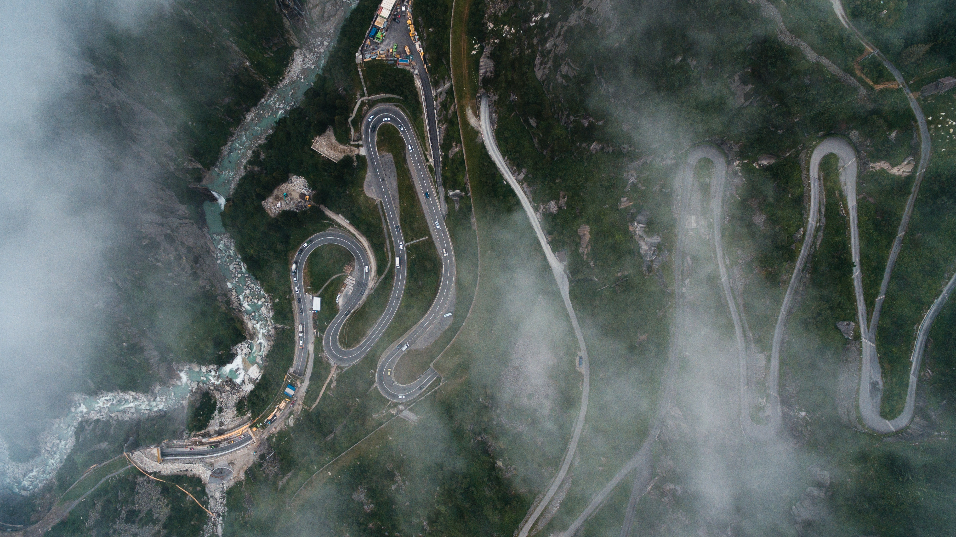 Aerial View, Route, View, Road, Pathway, HQ Photo