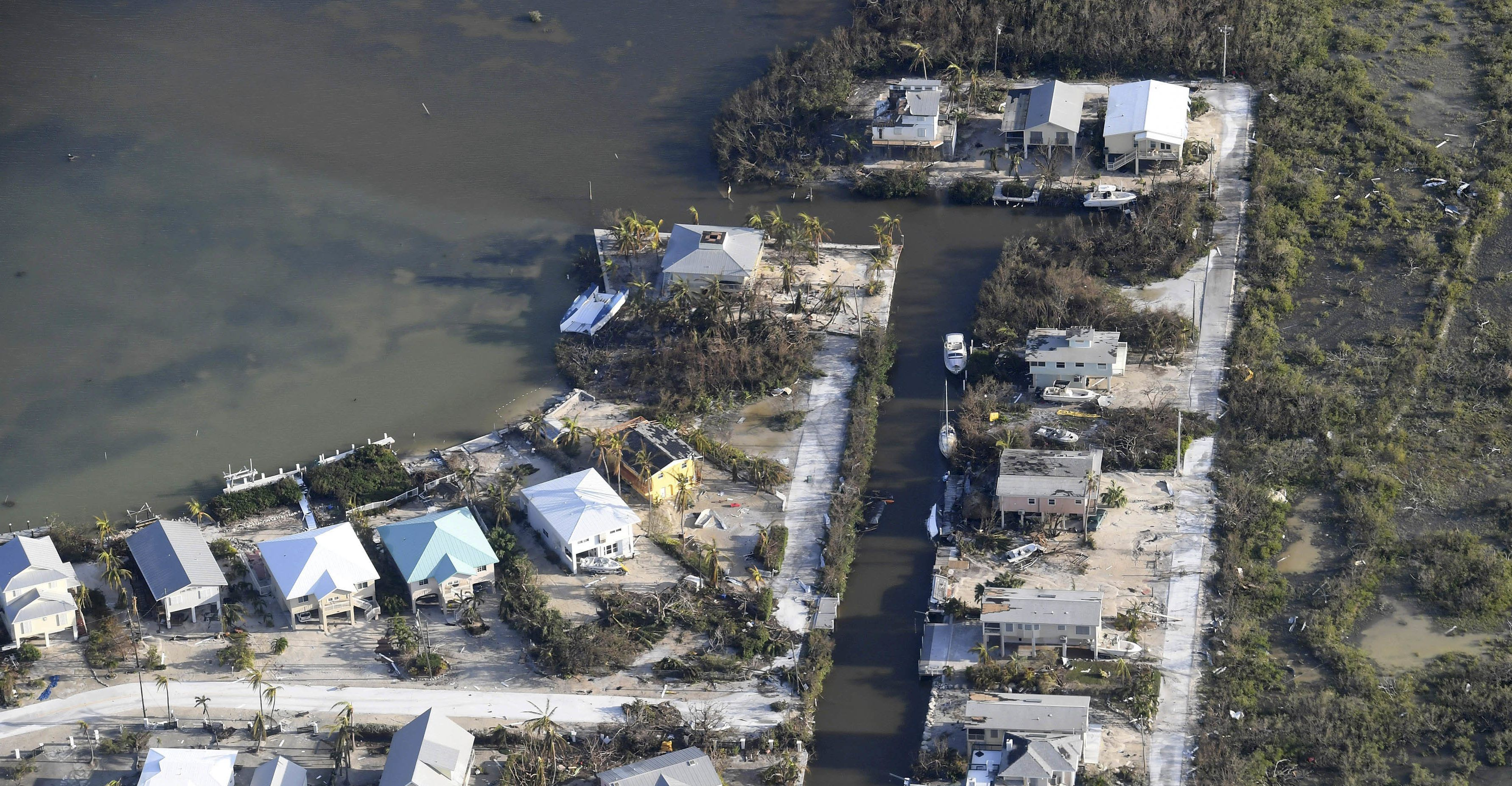 Hurricane Irma damage: An aerial view of the destruction Irma left ...