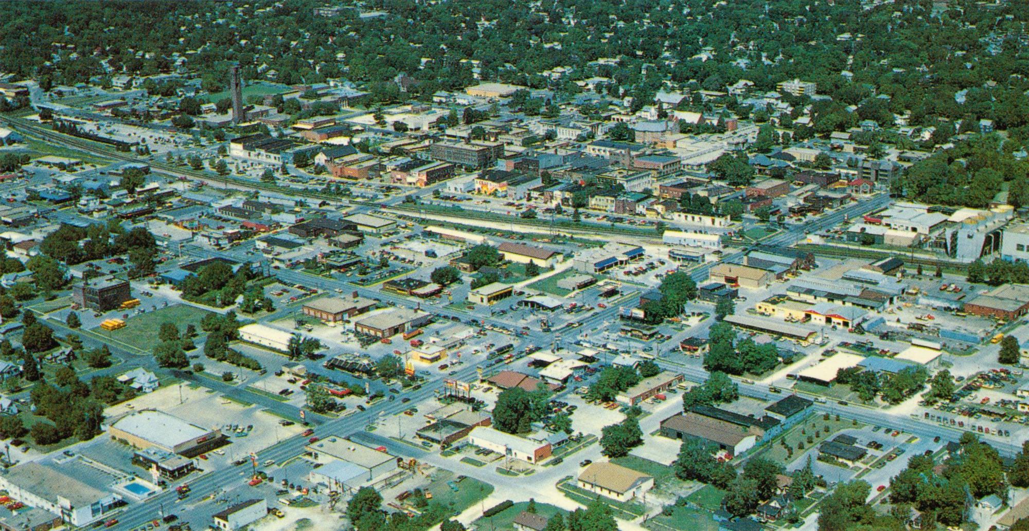 Aerial Views | Ames Historical Society