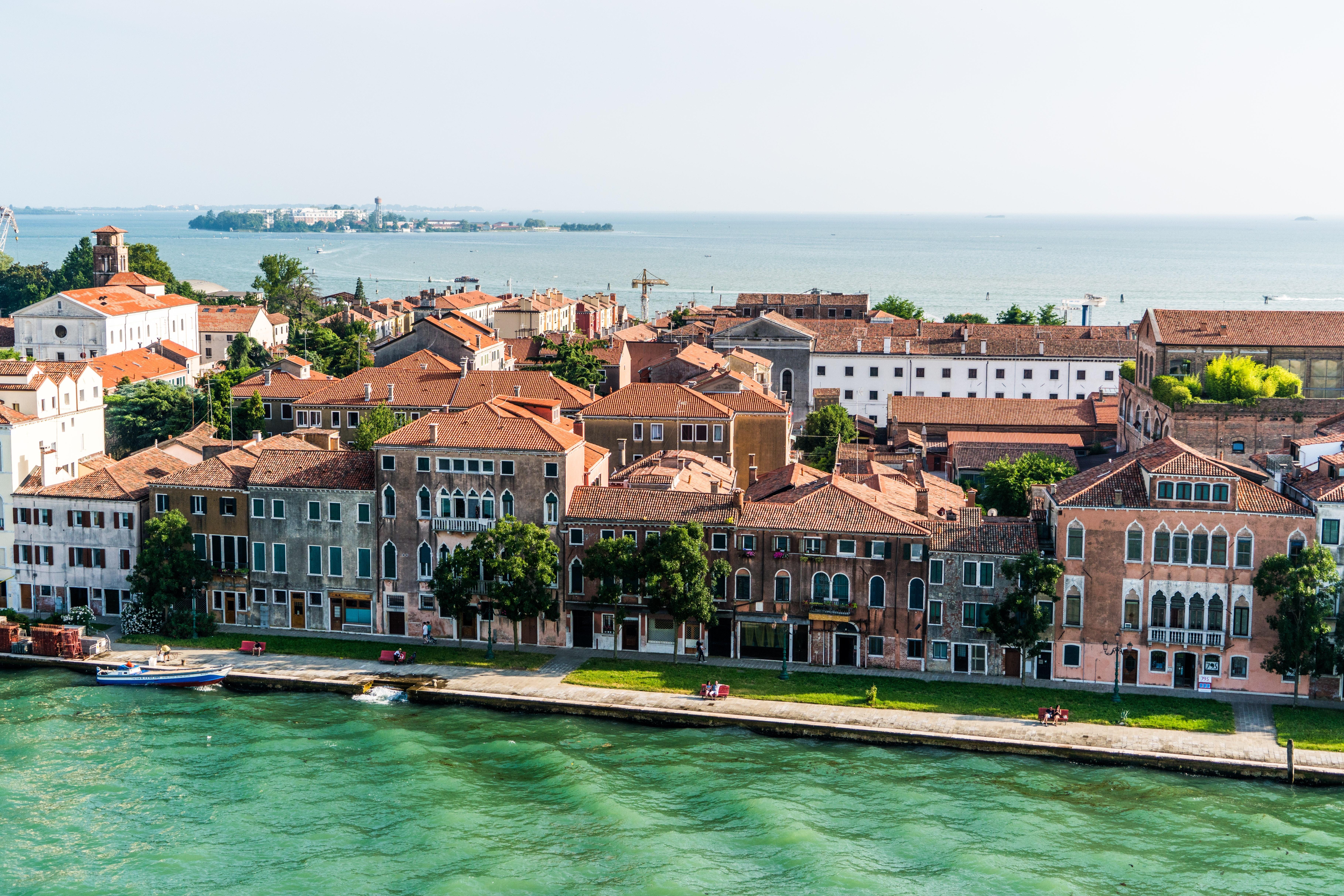 Aerial View of City during Daytime, Architecture, Romantic, Venice, Venezia, HQ Photo