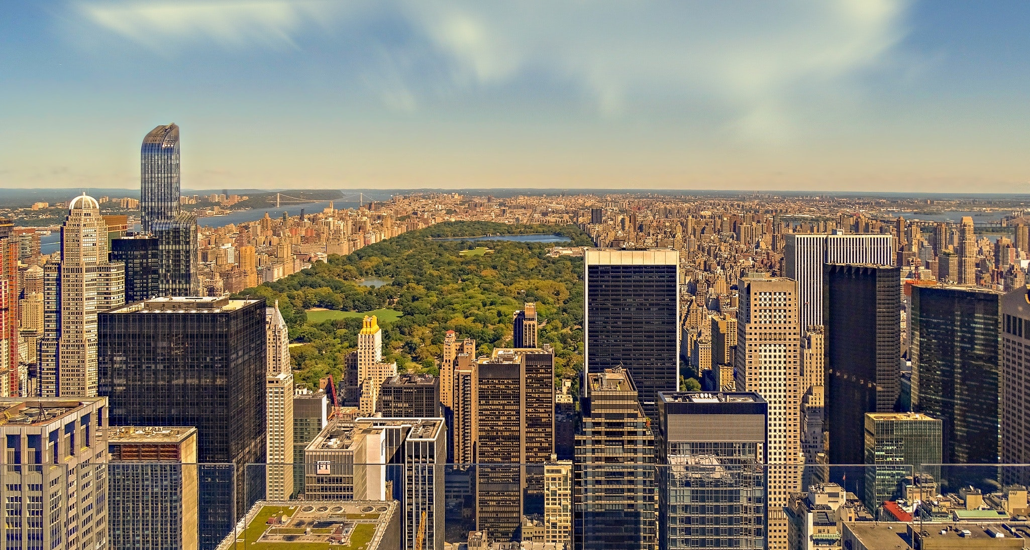 Aerial View of Cityscape, Architecture, Panoramic, Urban, Travel, HQ Photo