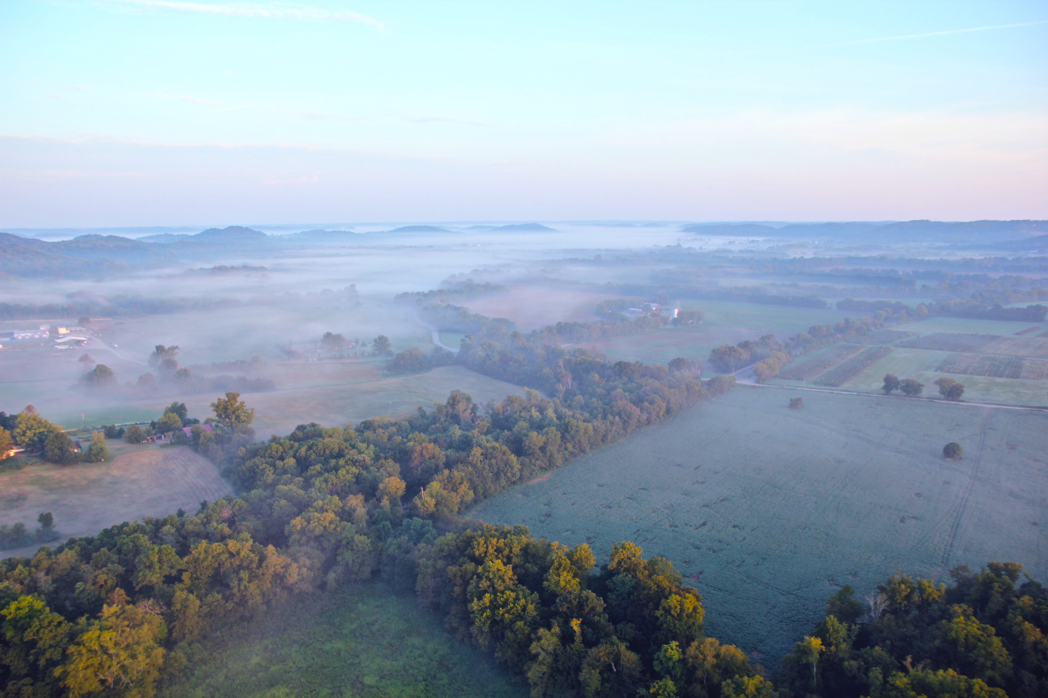Aerial View of Green Trees during Daytime, Clouds, Fields, Fog, Forest, HQ Photo
