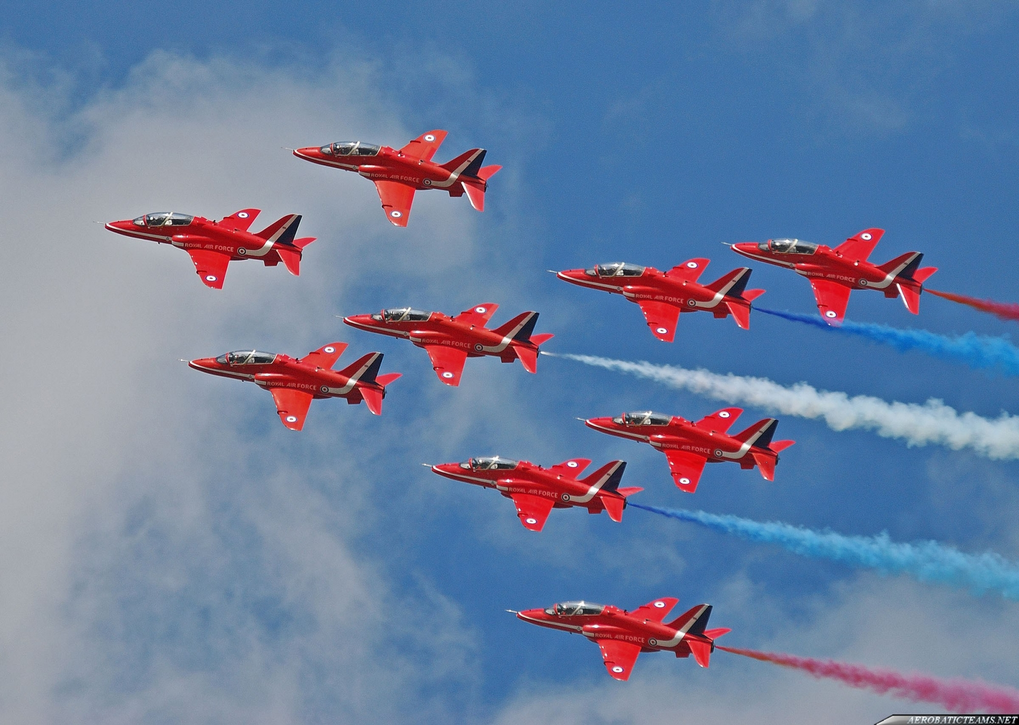 Red Arrows aerobatic display banned at Farnborough Airshow