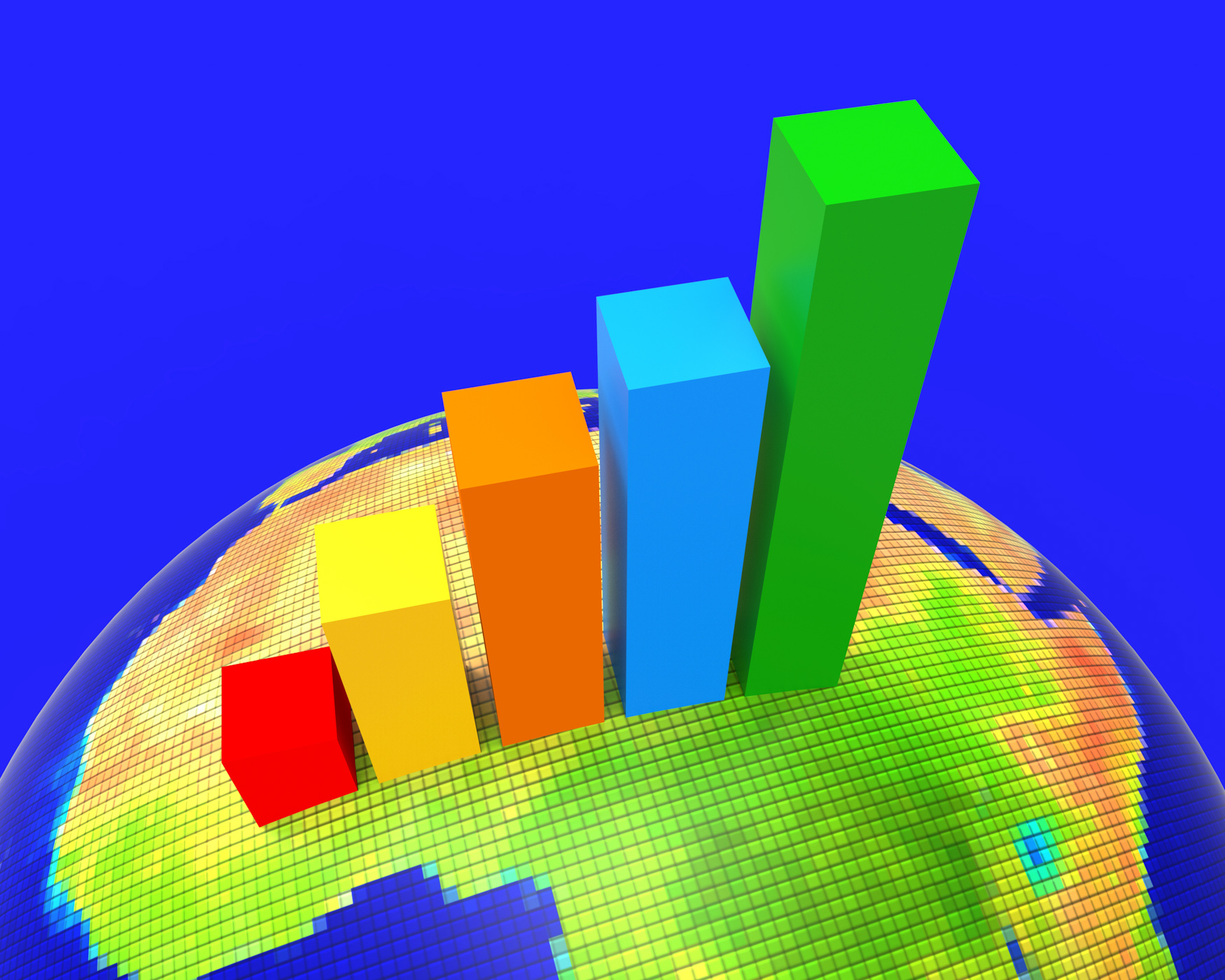 Africa Graph Indicates Financial Report And Analysis, Reports, Infochart, Infograph, Information, HQ Photo