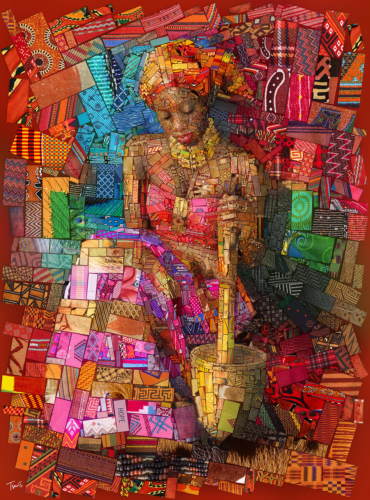 Incredible Mosaics inspired by the African bricks by Charis Tsevis ...