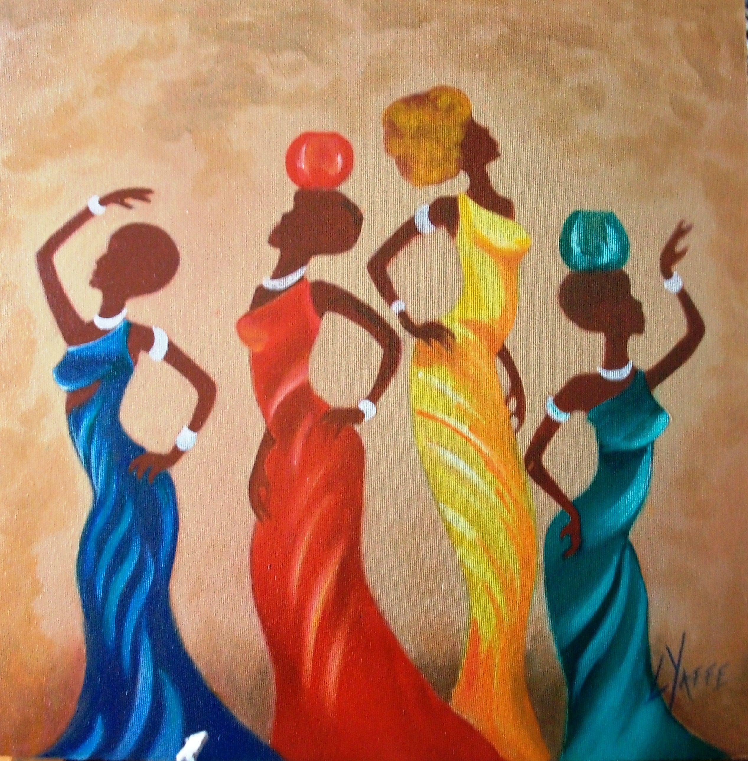 Pin by TC Gül Aras Yanik on african women | Pinterest | African art ...