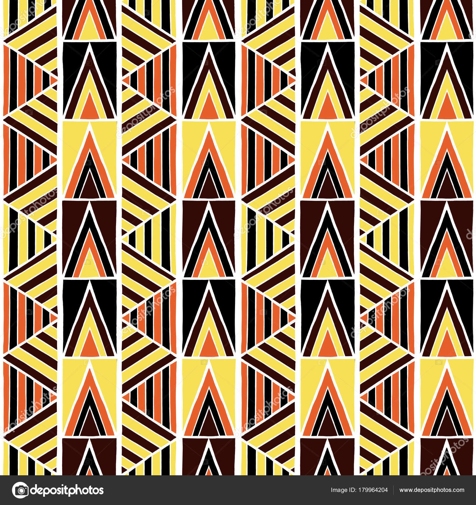 Free photo: African tribal pattern - Orange, Paint, Tribal - Free ...